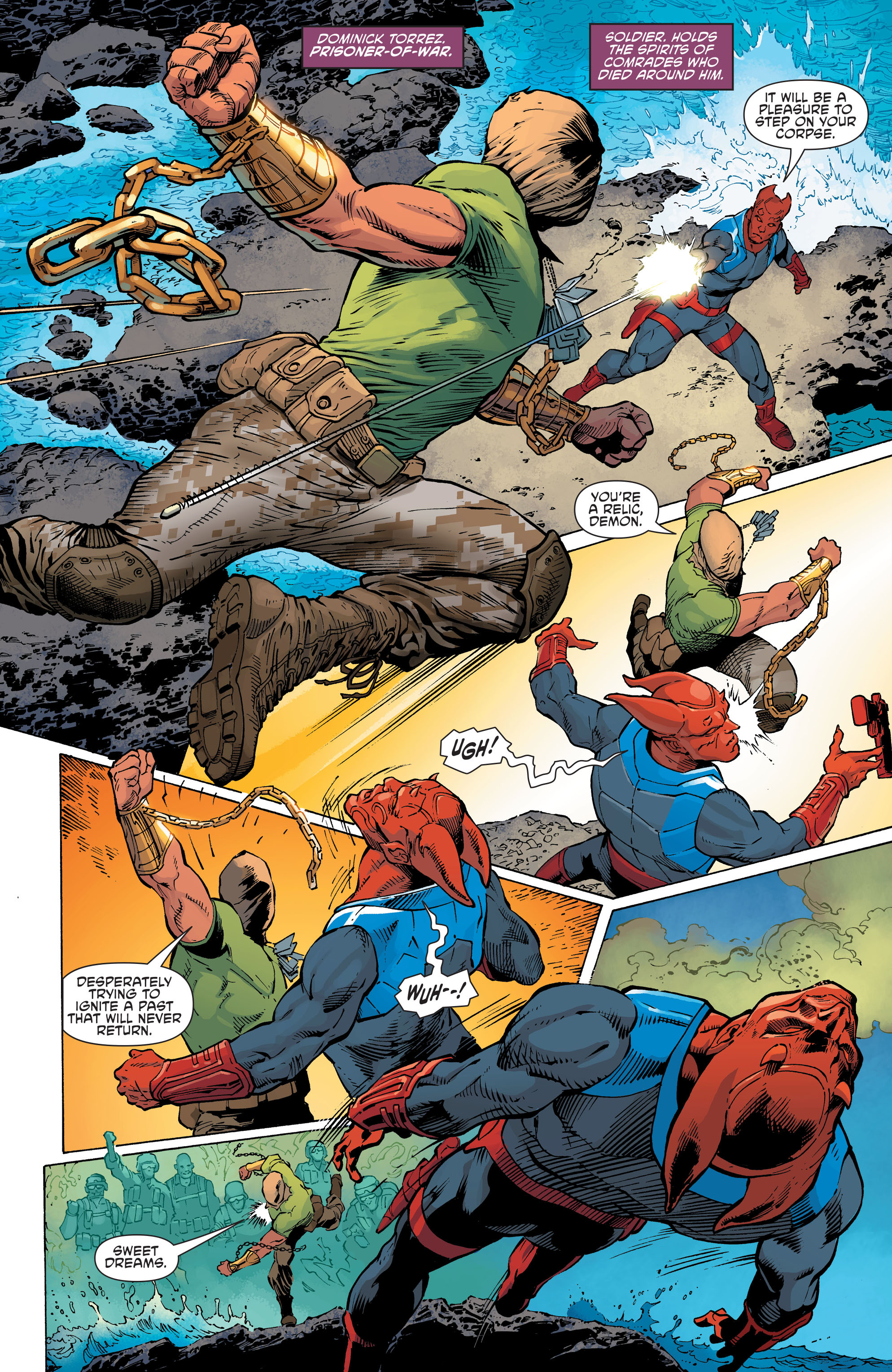 Read online Aquaman and the Others comic -  Issue #11 - 12