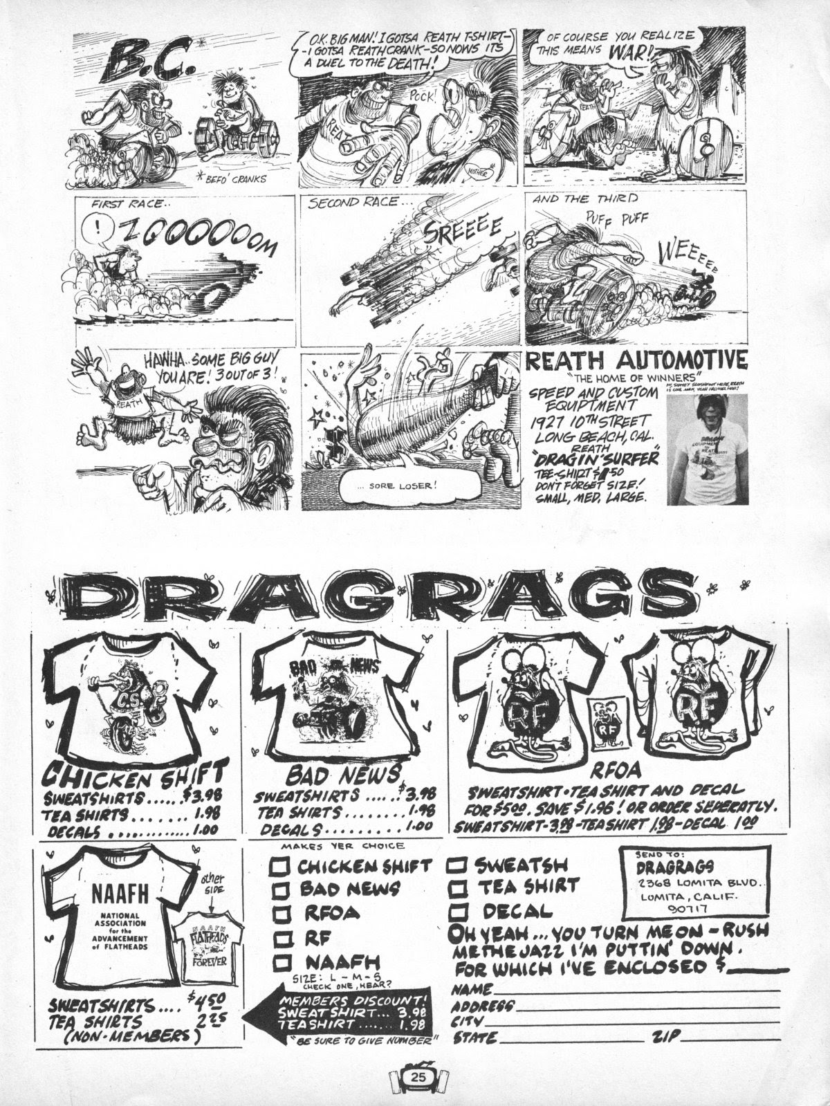 Drag Cartoons issue 7 - Page 25