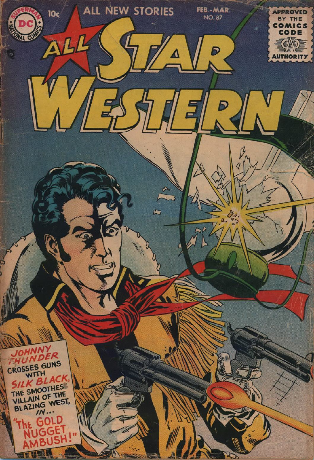 Read online All-Star Western (1951) comic -  Issue #87 - 1