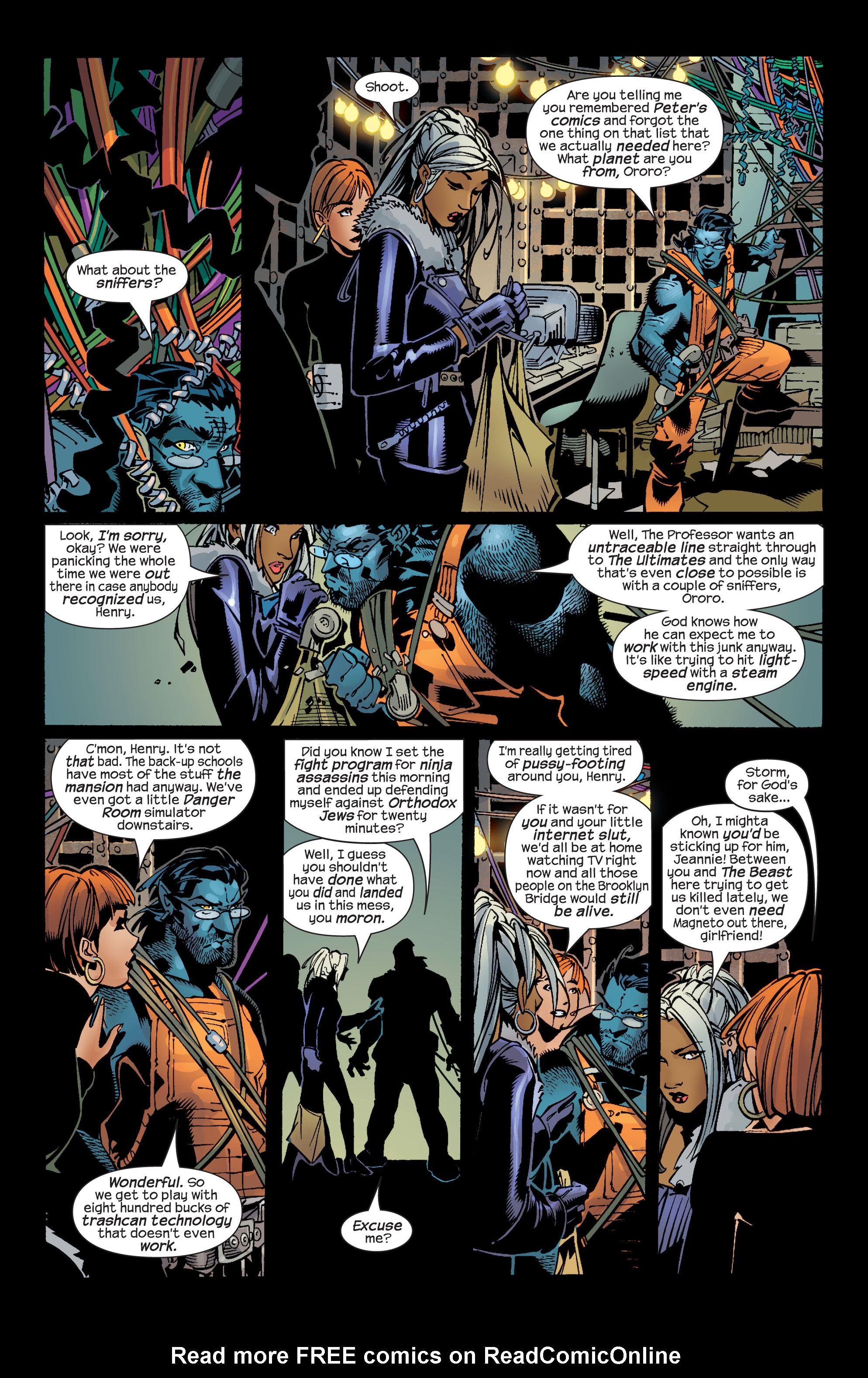 Read online Ultimate War comic -  Issue #2 - 10