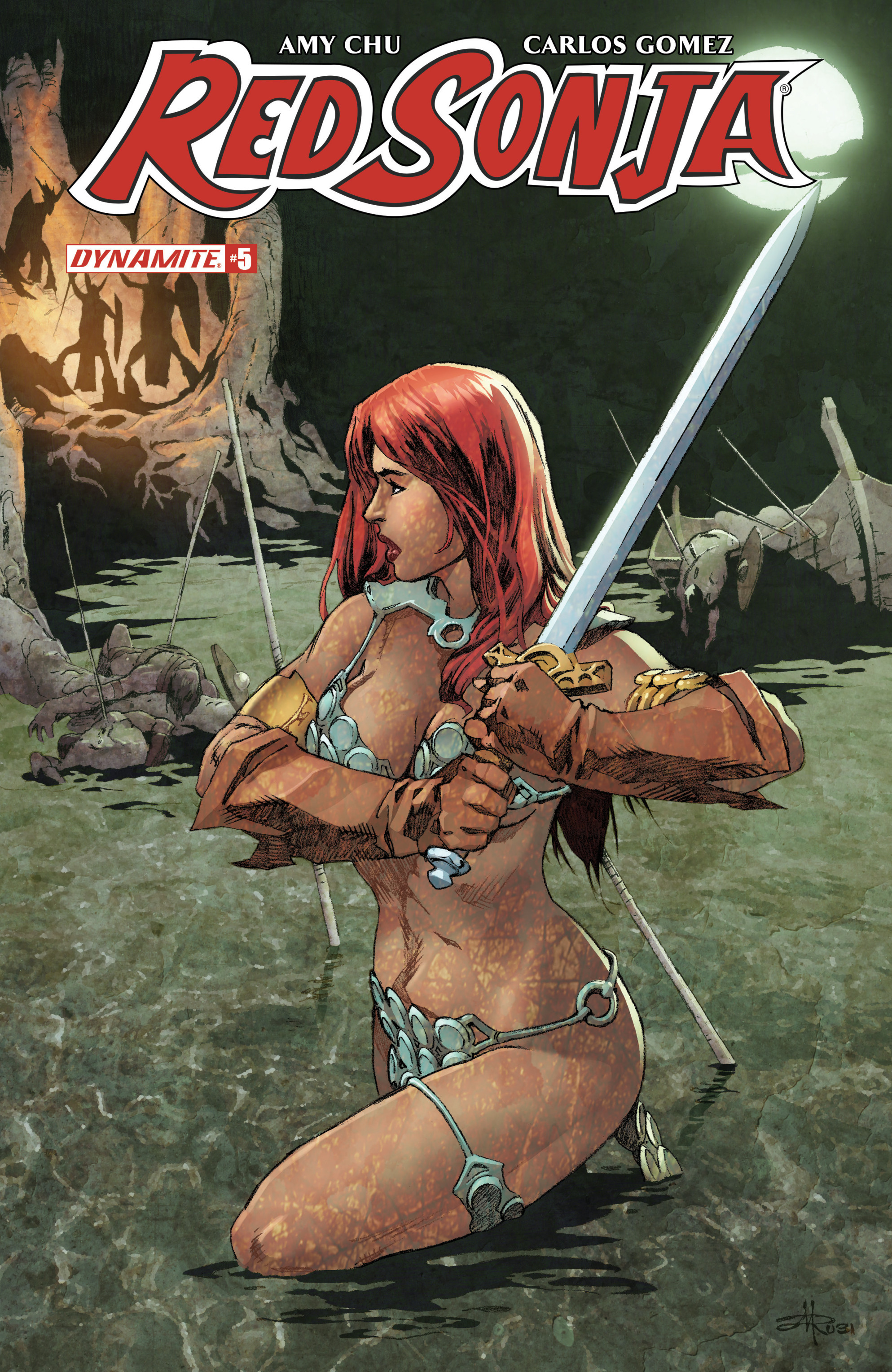 Read online Red Sonja Vol. 4 comic -  Issue #5 - 5