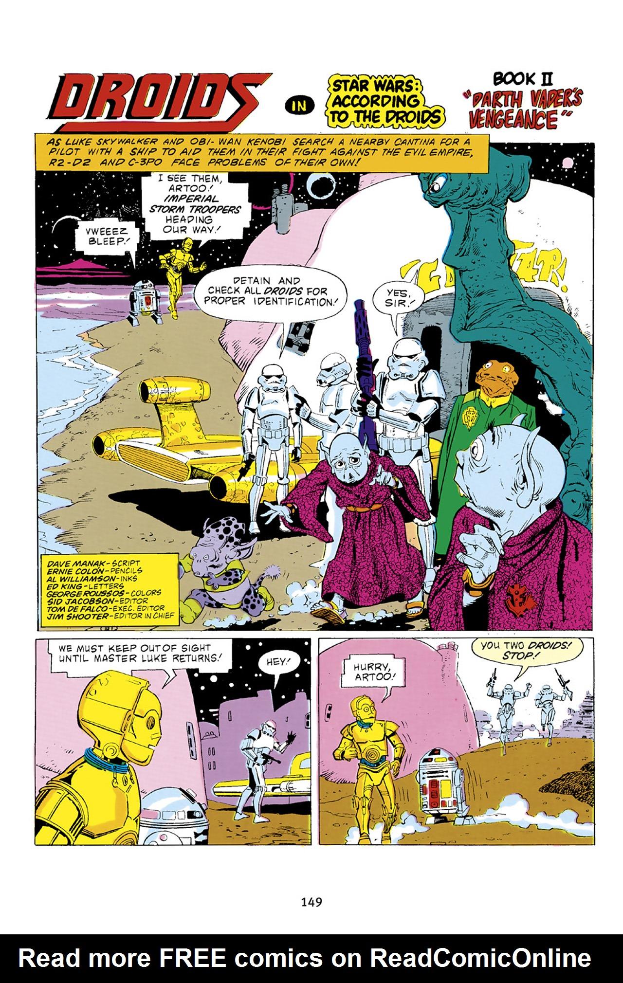 Read online Star Wars Omnibus comic -  Issue # Vol. 23 - 148