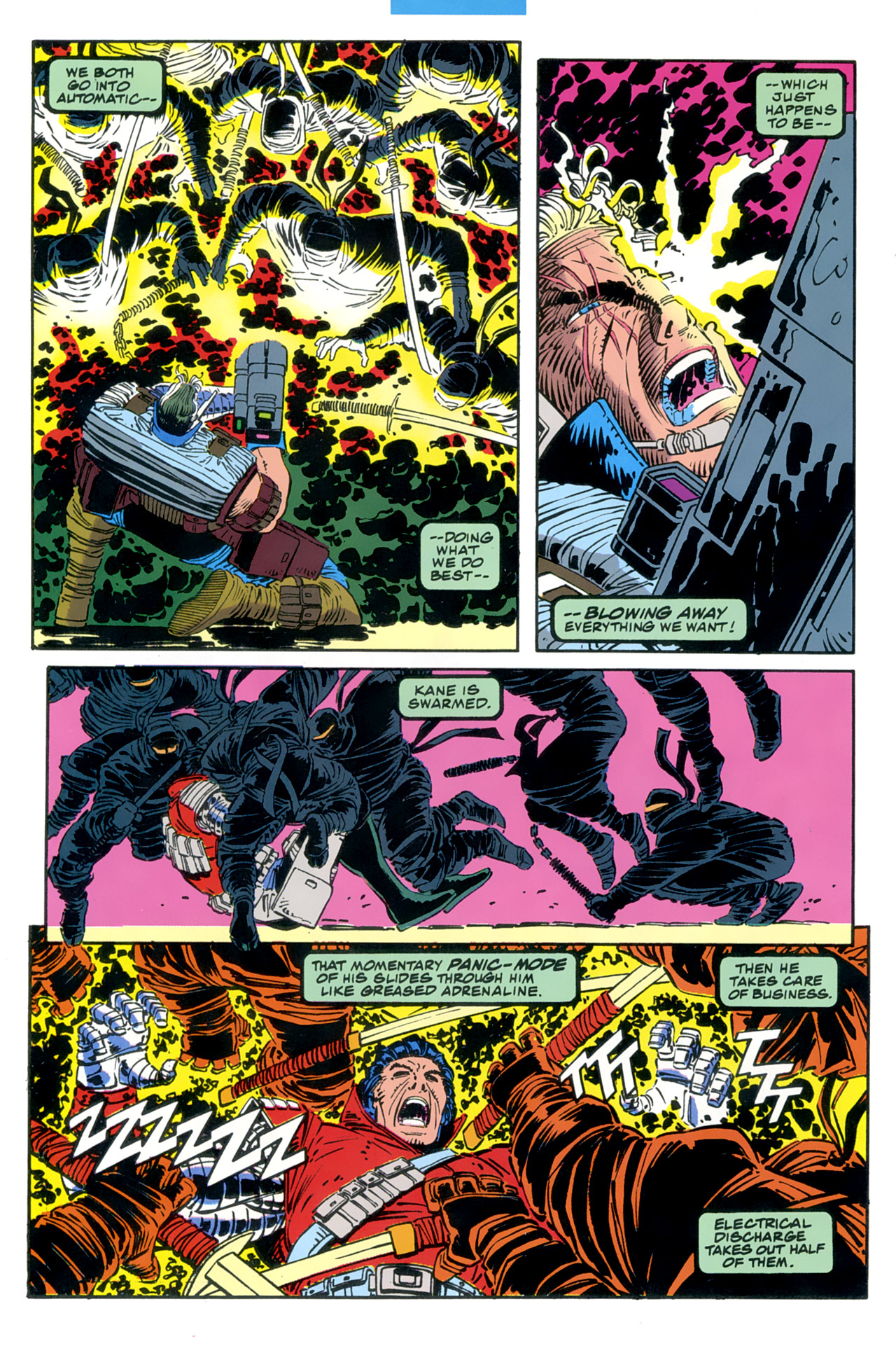 Read online Cable - Blood and Metal comic -  Issue #2 - 7