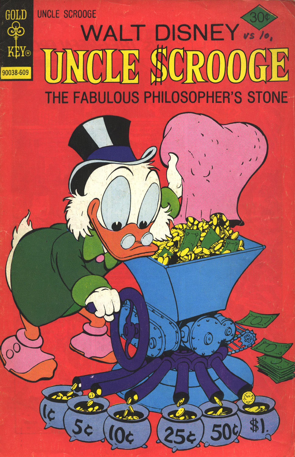 Read online Uncle Scrooge (1953) comic -  Issue #132 - 1