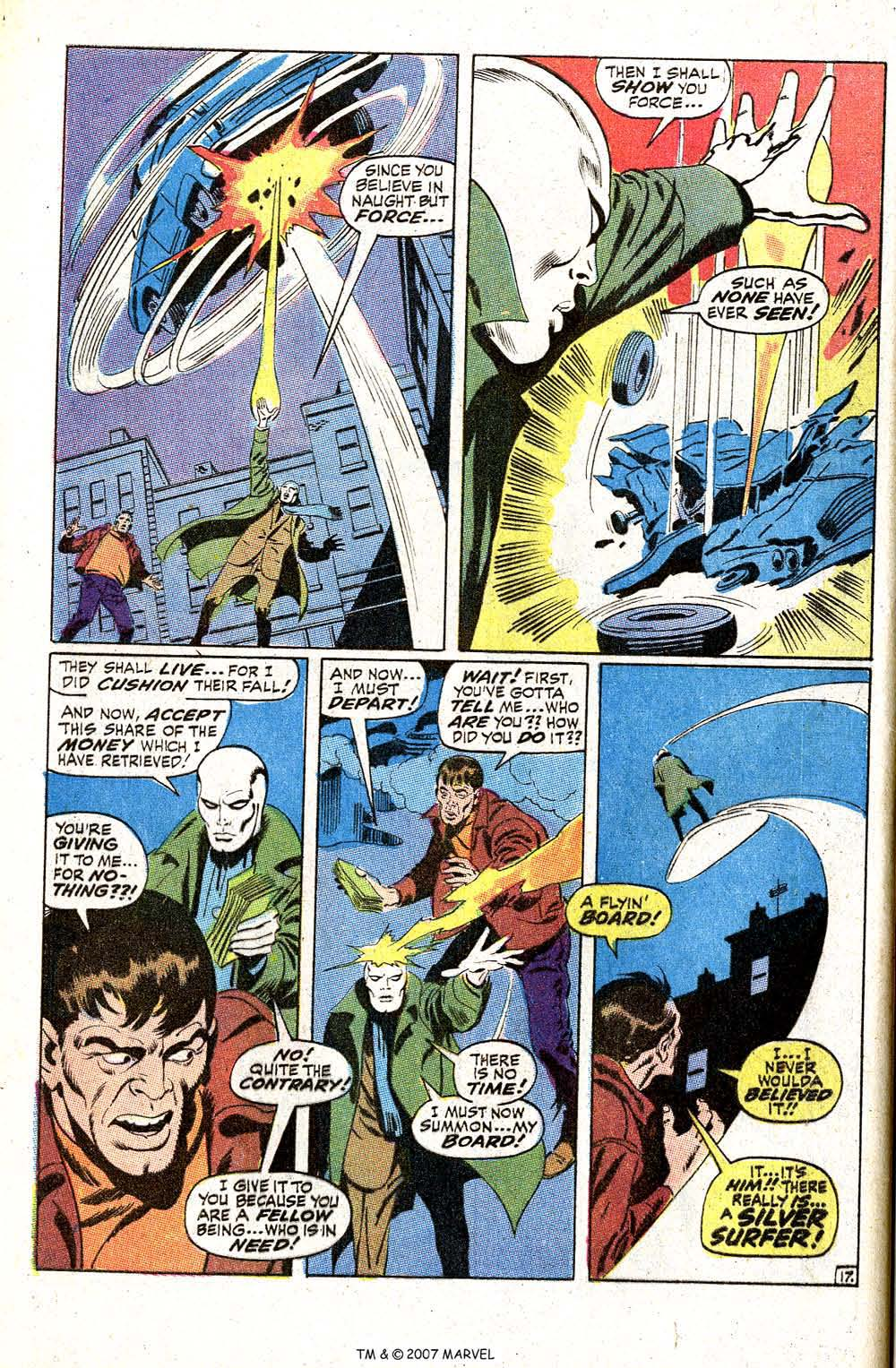 Read online Silver Surfer (1968) comic -  Issue #5 - 22