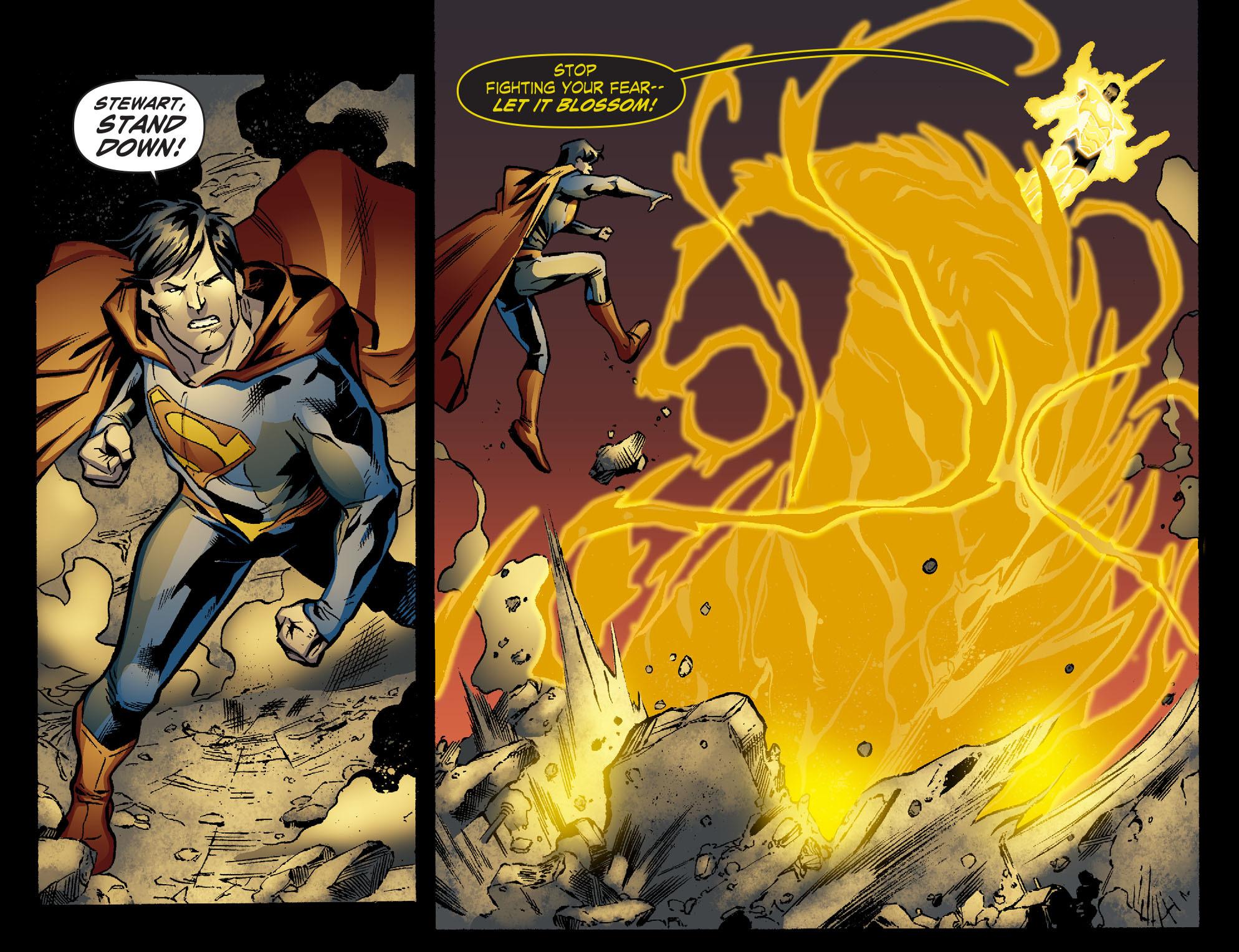 Read online Smallville: Lantern [I] comic -  Issue #10 - 13