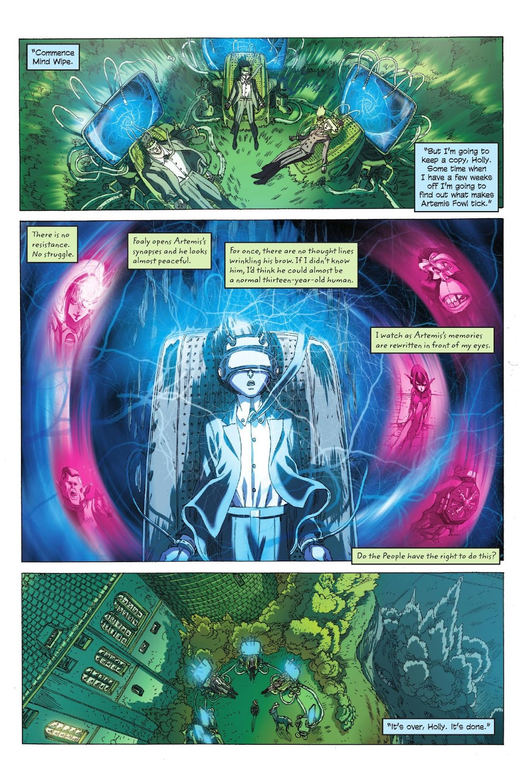Artemis Fowl: The Eternity Code issue TPB - Page 109