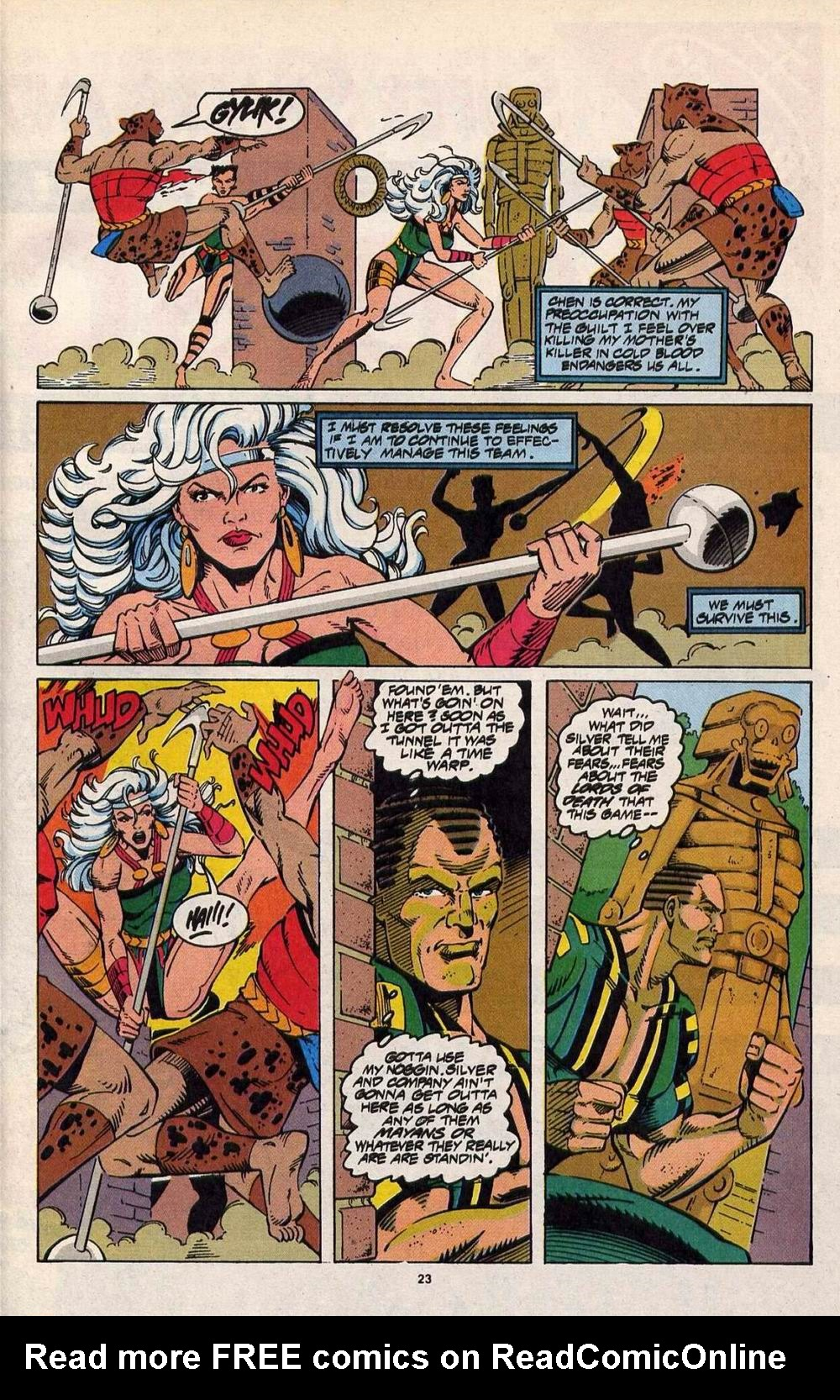 Read online Silver Sable and the Wild Pack comic -  Issue #29 - 19