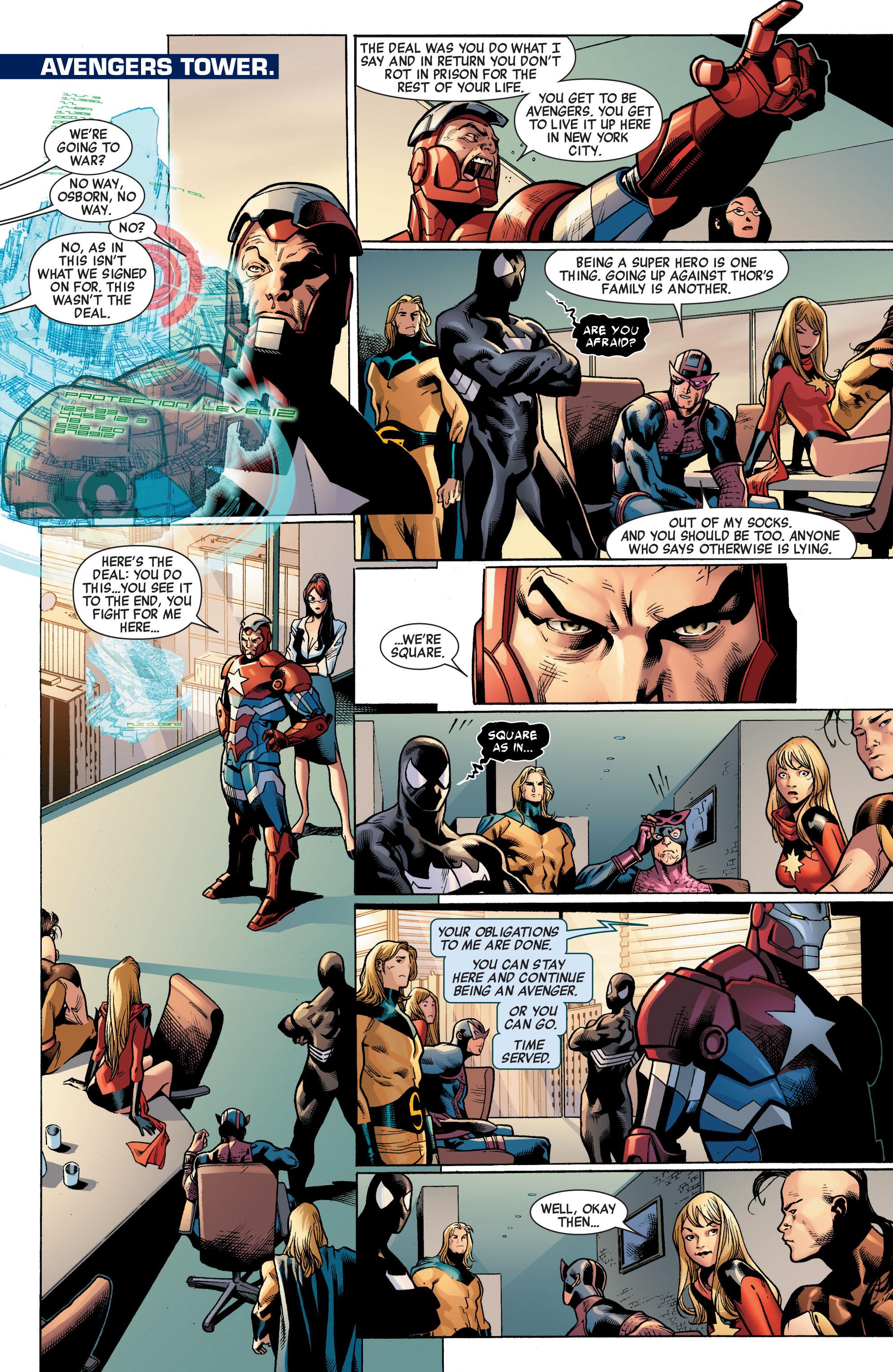 Read online Siege (2010) comic -  Issue #1 - 12