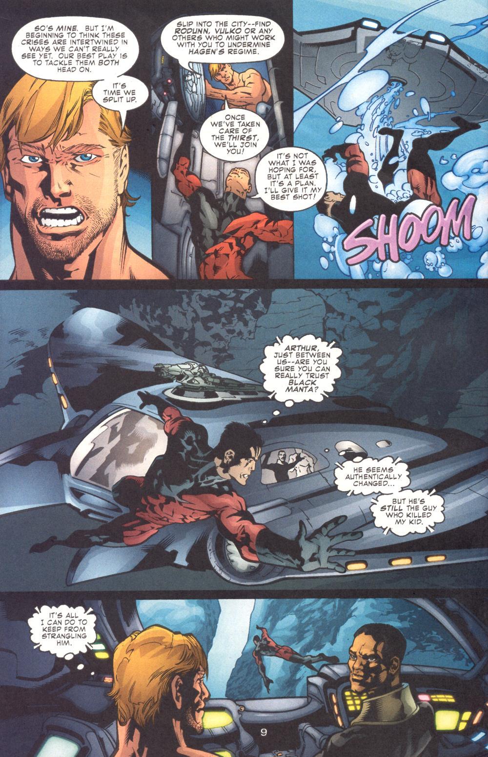 Read online Aquaman (2003) comic -  Issue #9 - 11