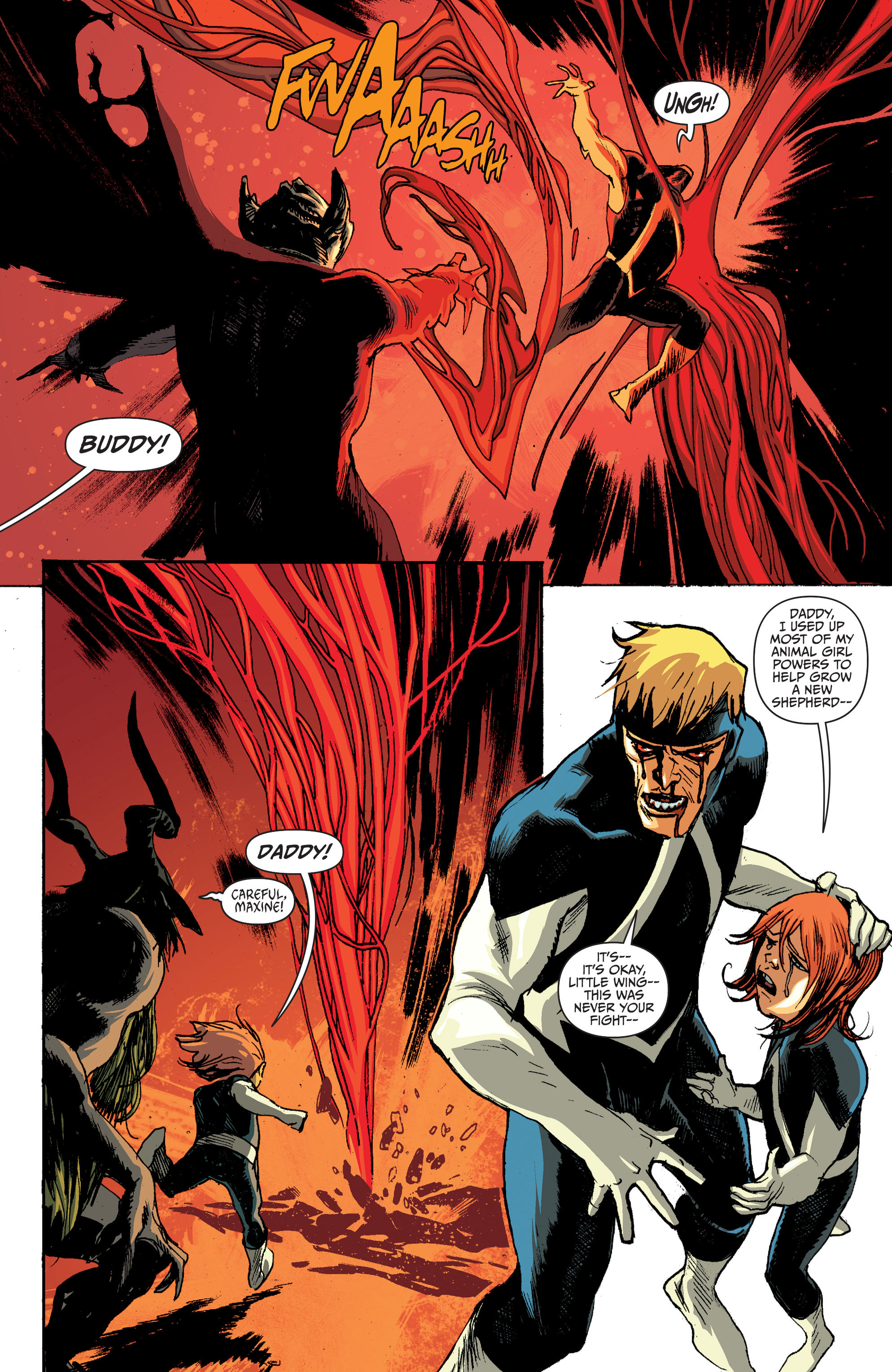 Read online Animal Man (2011) comic -  Issue #28 - 16