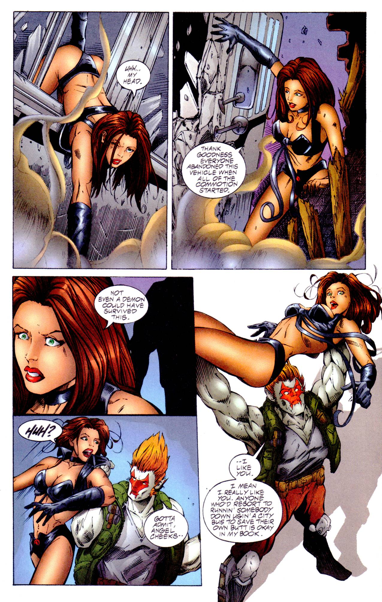 Read online Avengelyne (1996) comic -  Issue #14 - 16