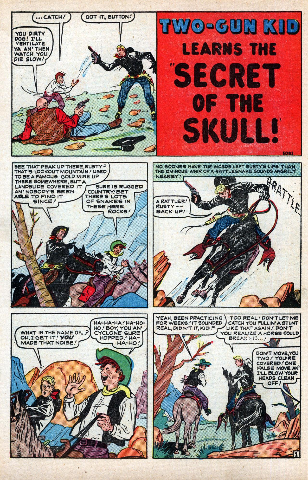 Read online Two-Gun Kid comic -  Issue #8 - 12