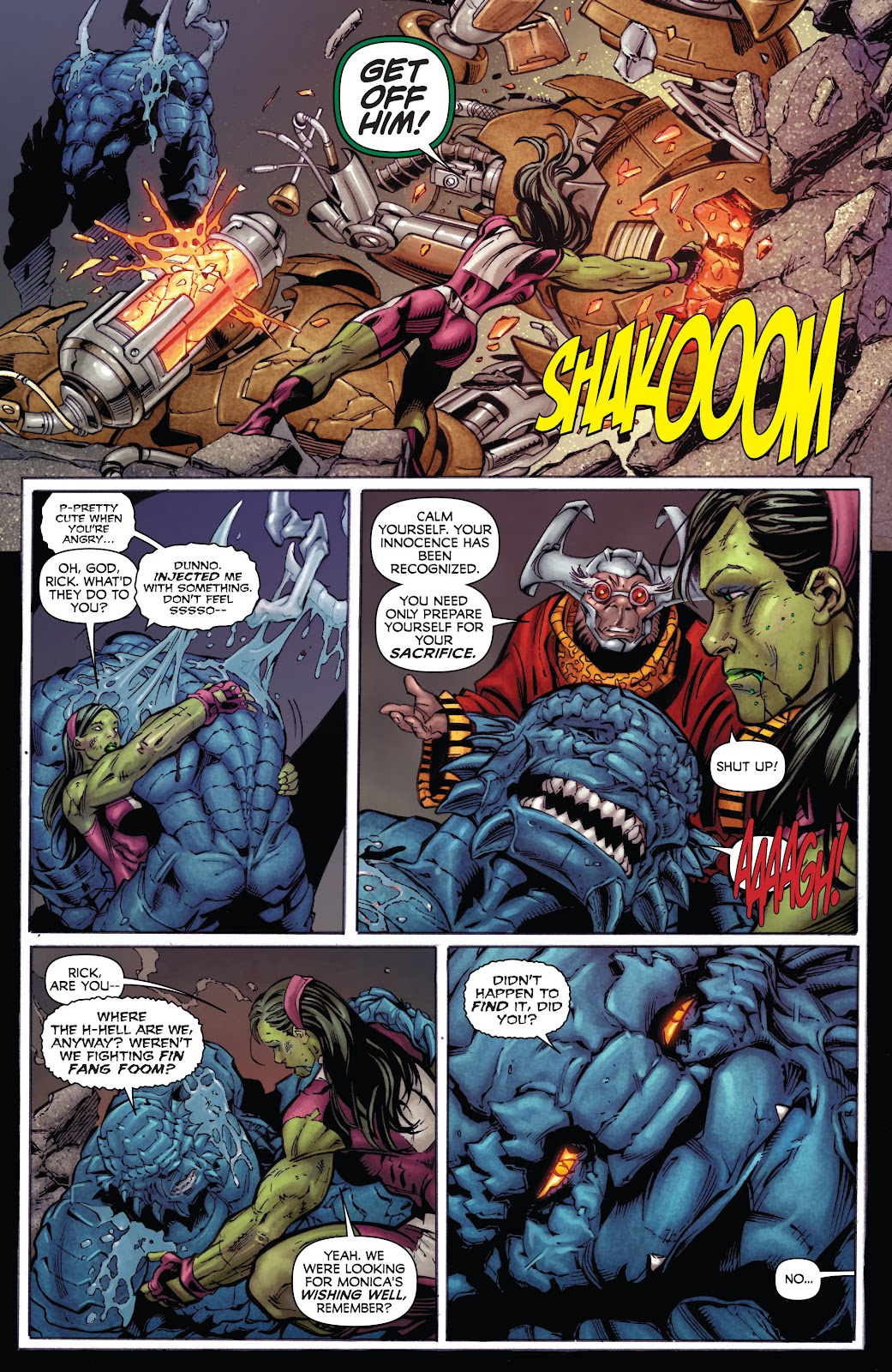 Read online Incredible Hulks (2010) comic -  Issue # _TPB Heart of the Monster - 49