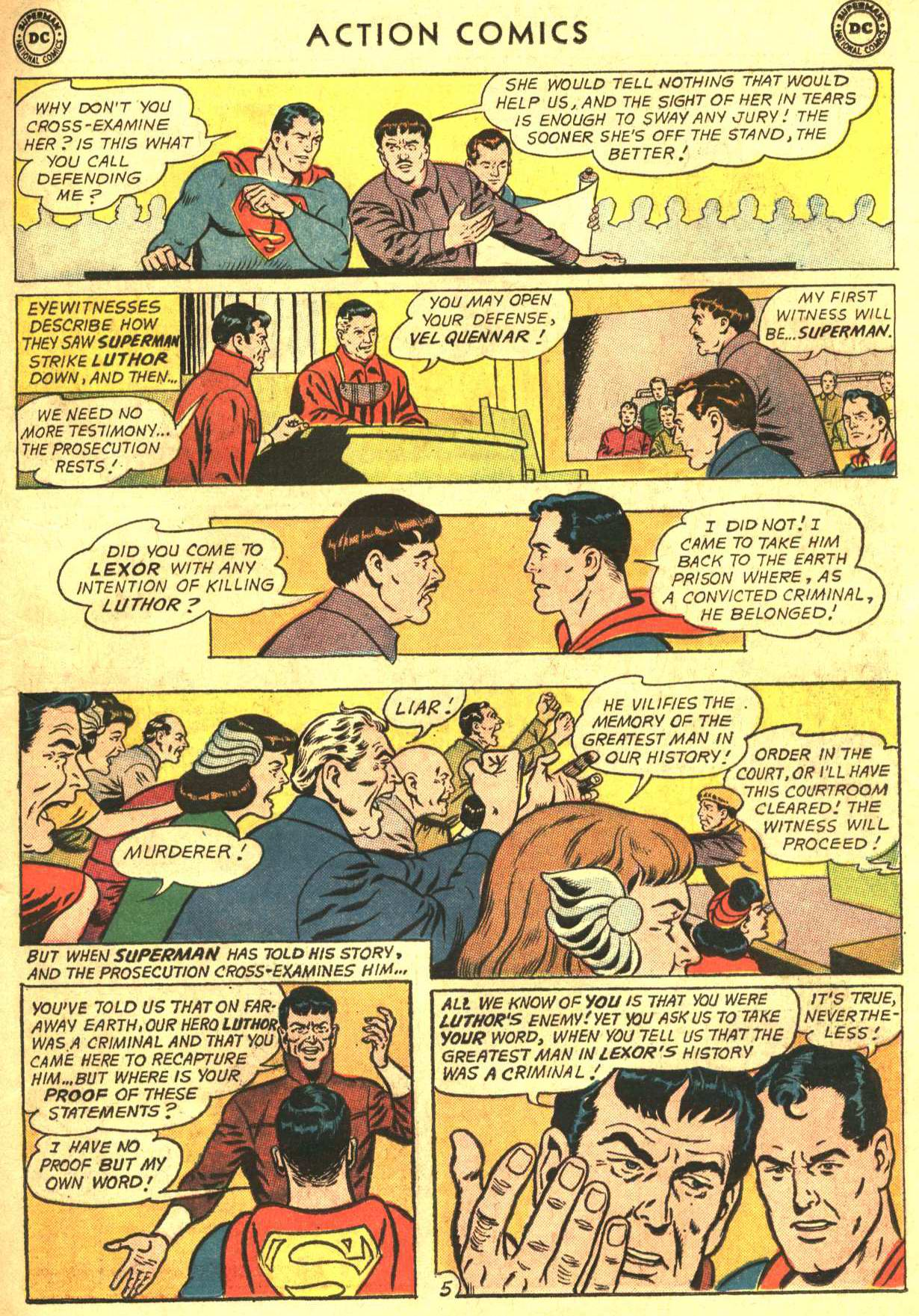 Read online Action Comics (1938) comic -  Issue #319 - 7