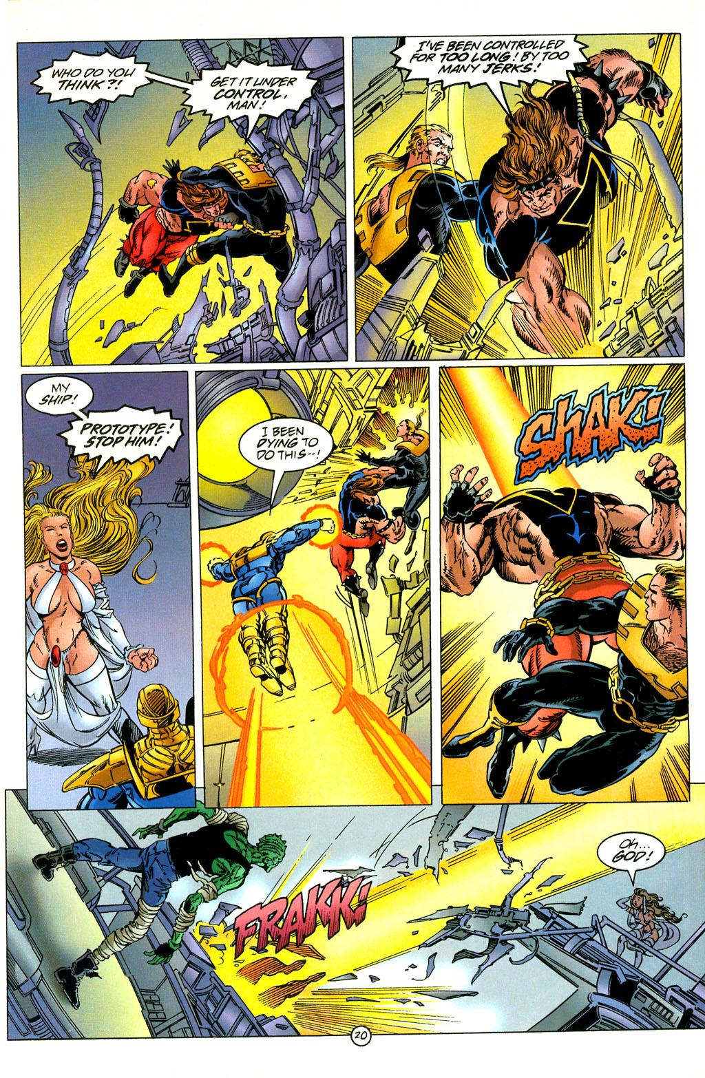 Read online UltraForce (1994) comic -  Issue #2 - 21