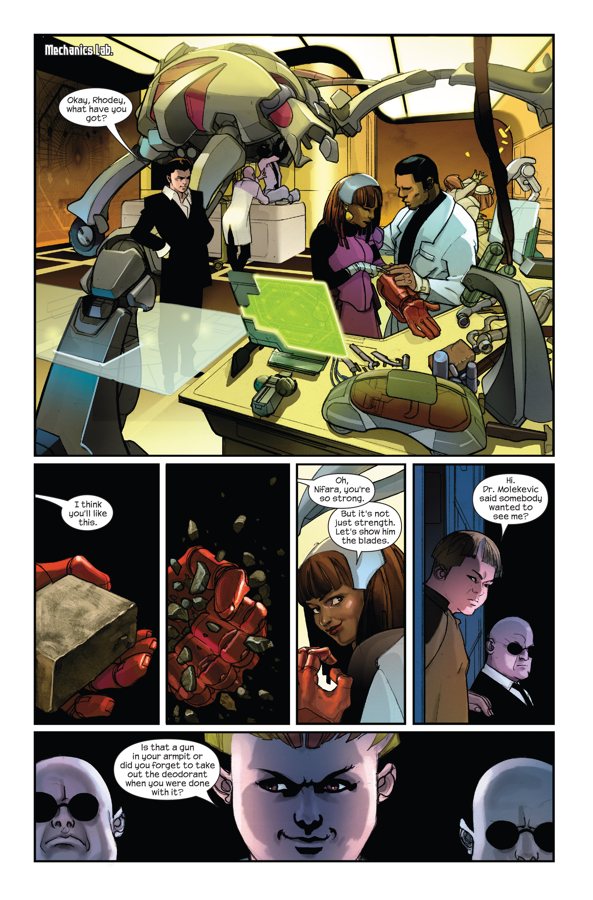 Read online Ultimate Iron Man II comic -  Issue #1 - 9