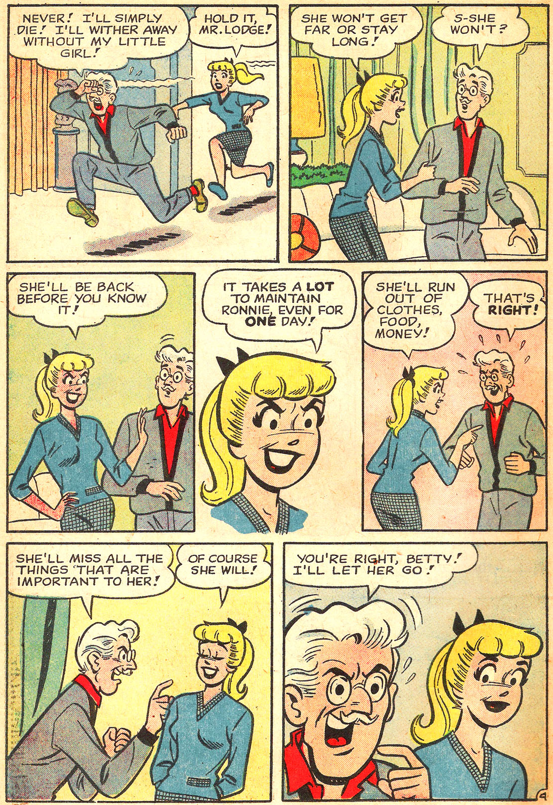 Read online Archie's Girls Betty and Veronica comic -  Issue #87 - 6