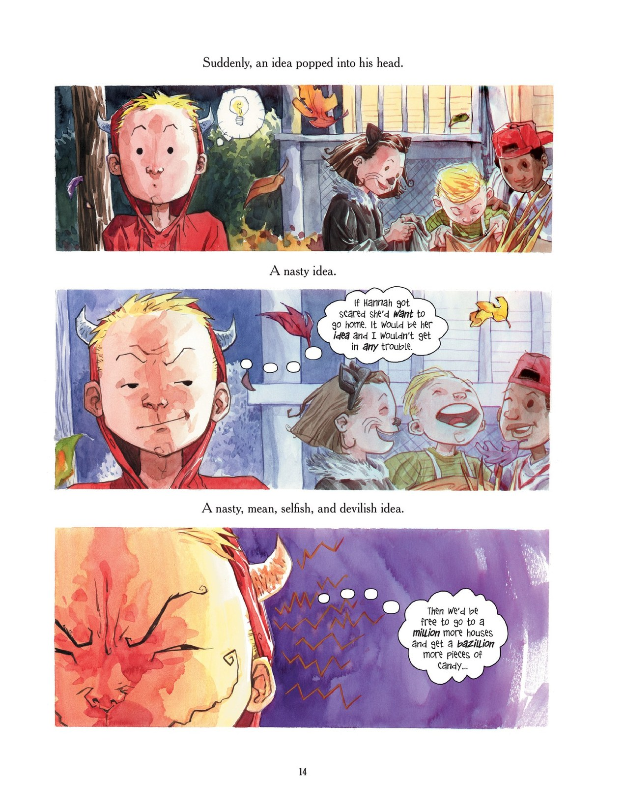 Read online Scary Godmother comic -  Issue # TPB - 14