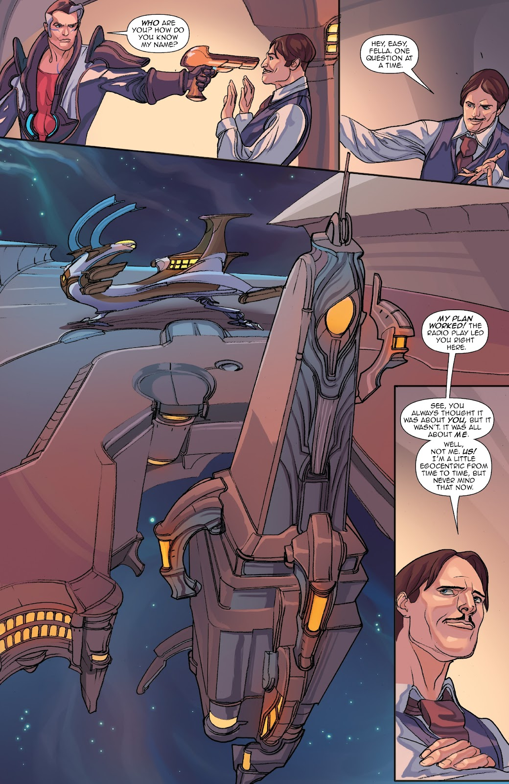 Read online Lightstep comic -  Issue #5 - 15