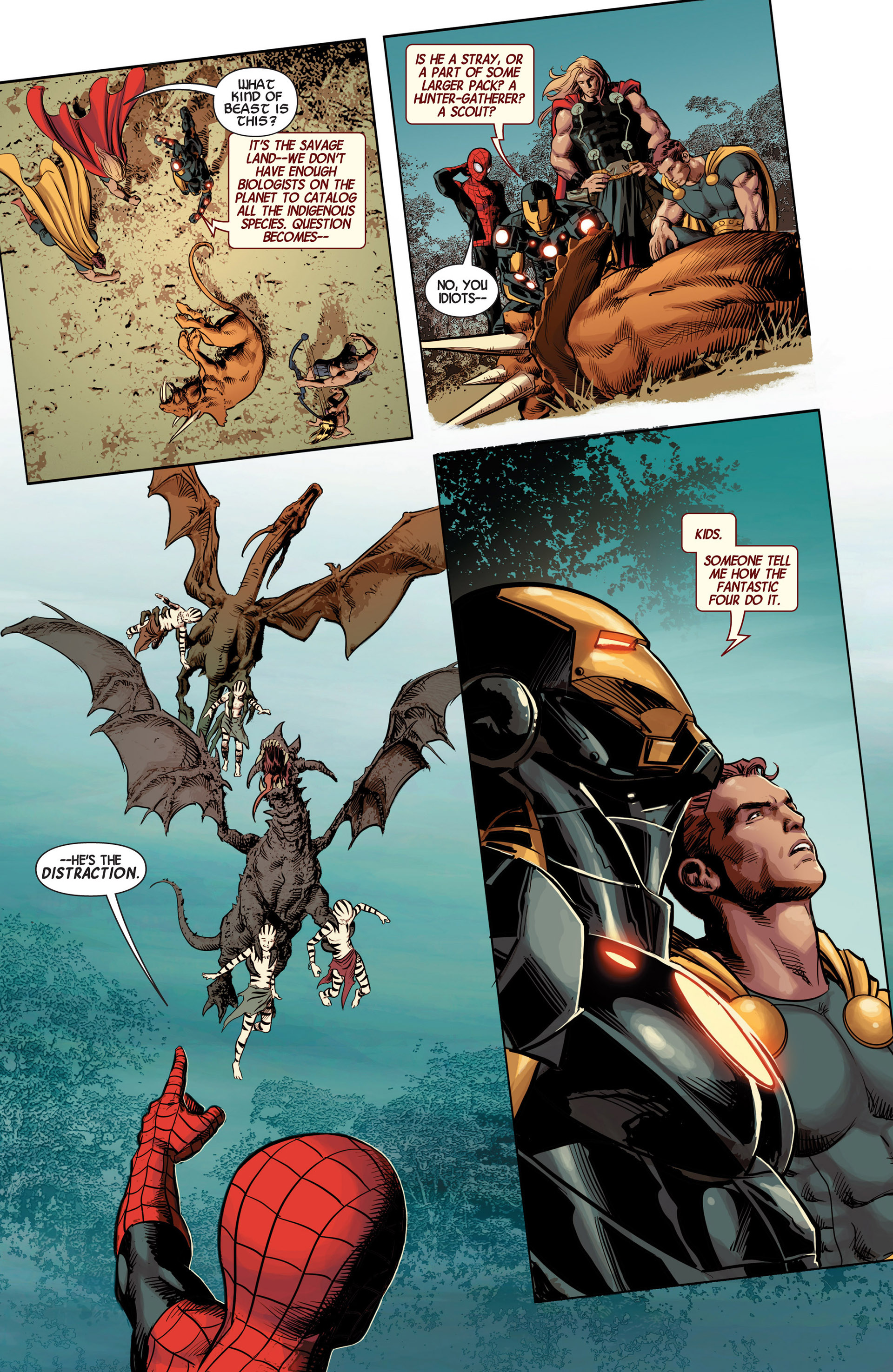 Read online Avengers (2013) comic -  Issue #12 - 23