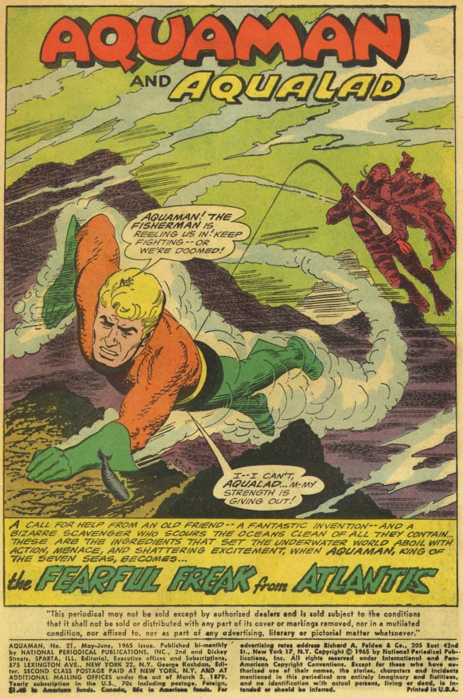 Aquaman (1962) Issue #21 #21 - English 3