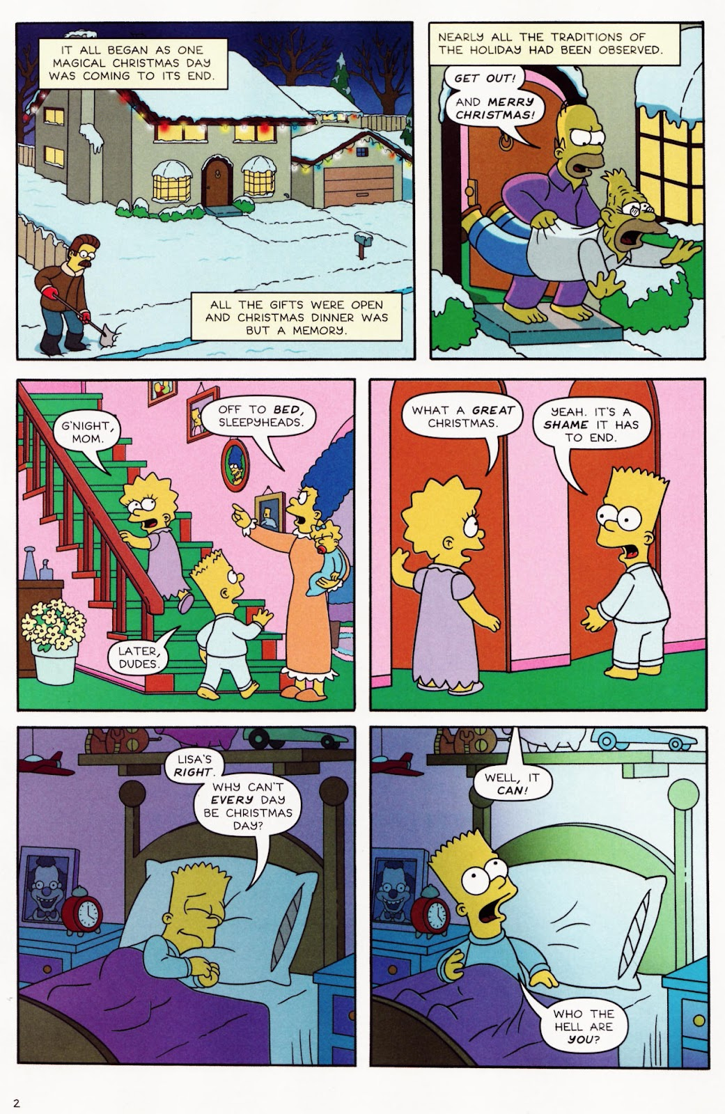Read online The Simpsons Winter Wingding comic -  Issue #2 - 4