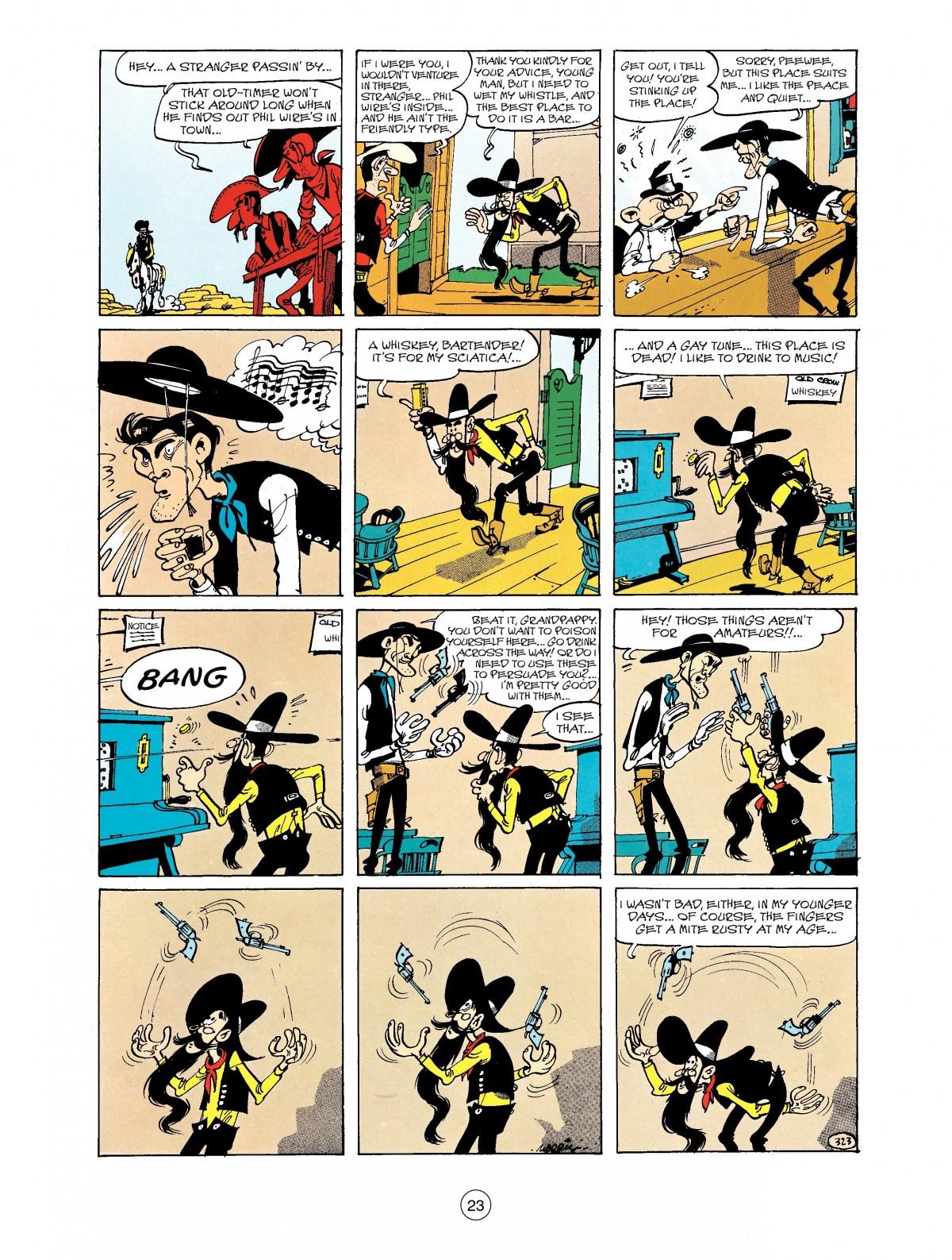 Read online A Lucky Luke Adventure comic -  Issue #40 - 23