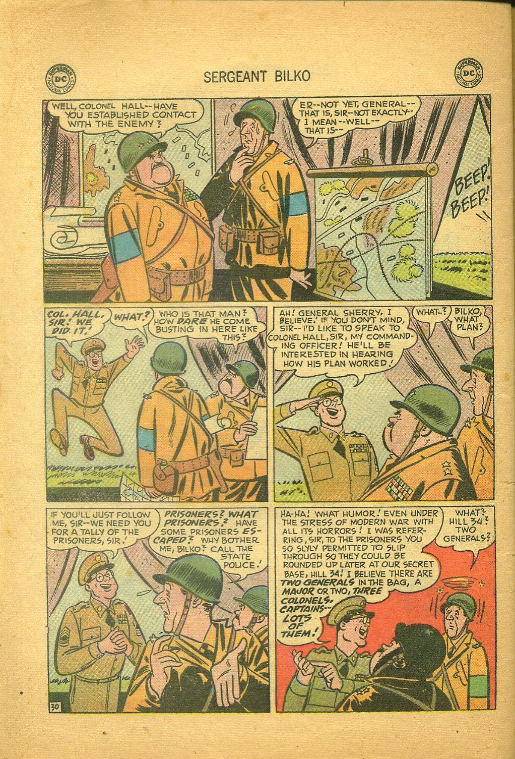 Sergeant Bilko issue 1 - Page 32