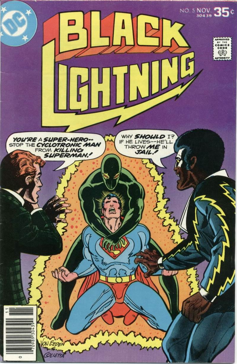 Black Lightning (1977) issue 5 - Page 1