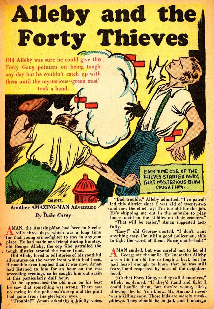 Read online Amazing Man Comics comic -  Issue #12 - 33
