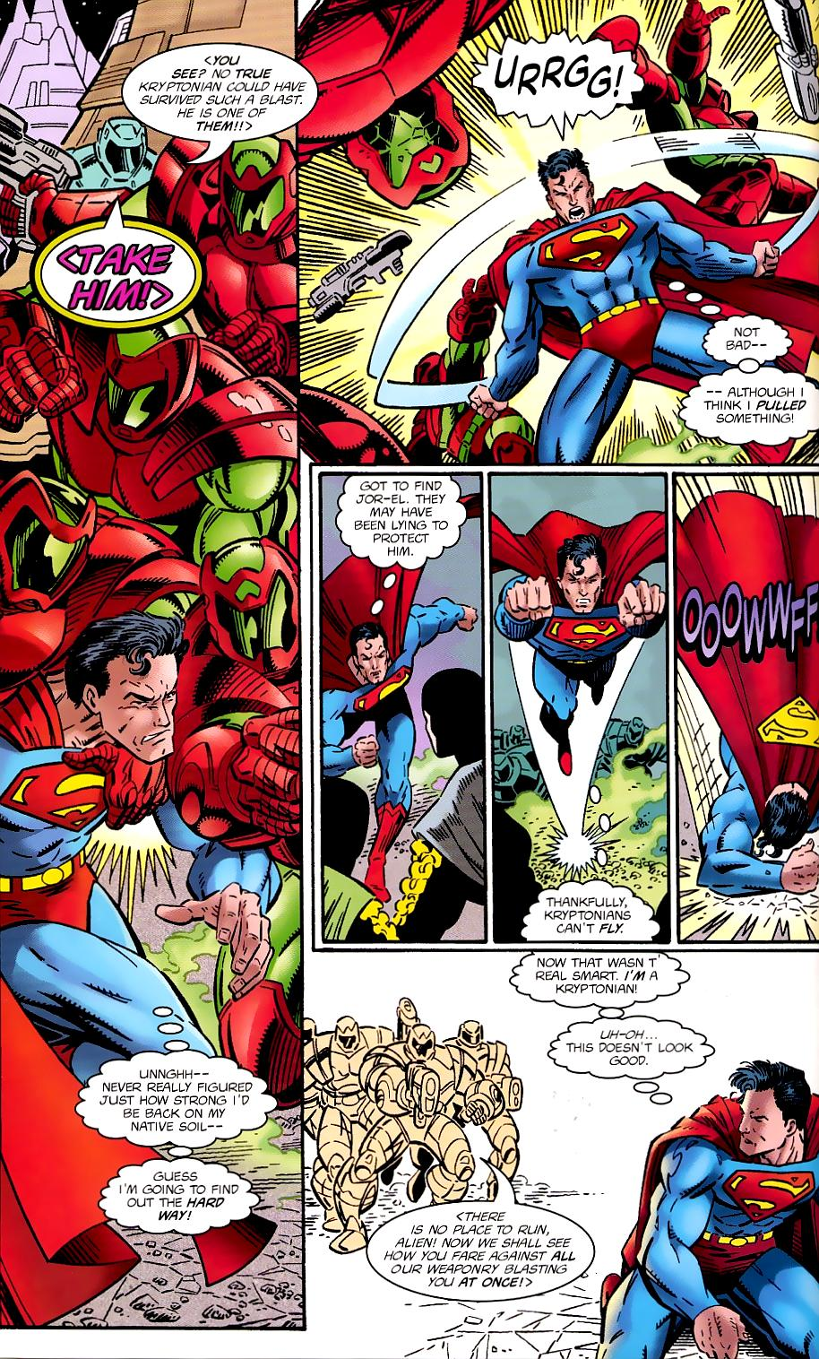 Read online Silver Surfer/Superman comic -  Issue # Full - 10