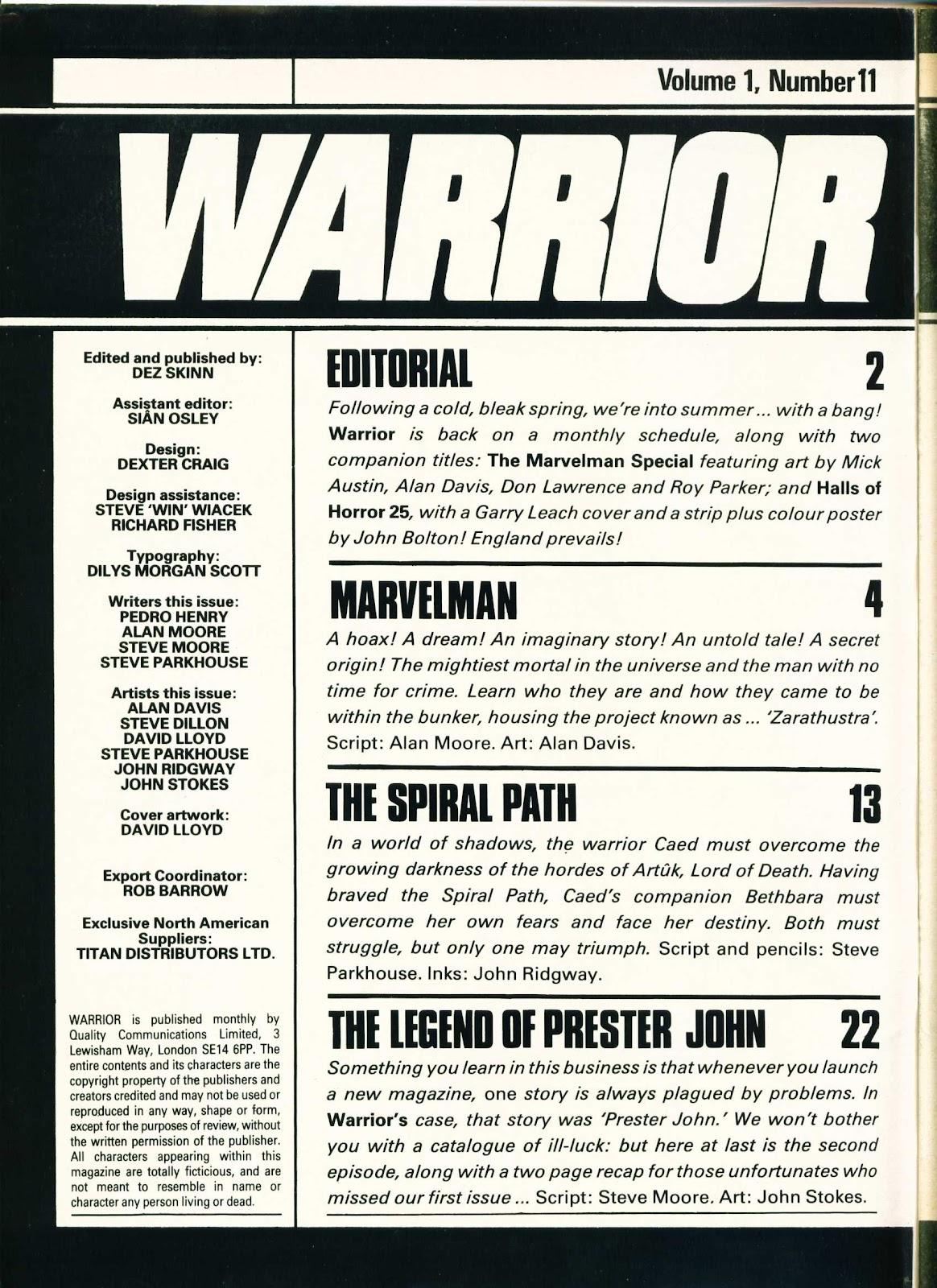 Warrior Issue #11 #12 - English 2