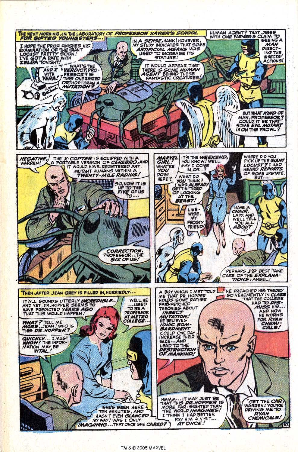 Read online Uncanny X-Men (1963) comic -  Issue #72 - 36