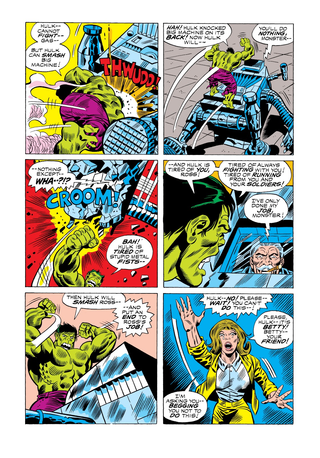 Read online Marvel Masterworks: The Incredible Hulk comic -  Issue # TPB 11 (Part 1) - 42