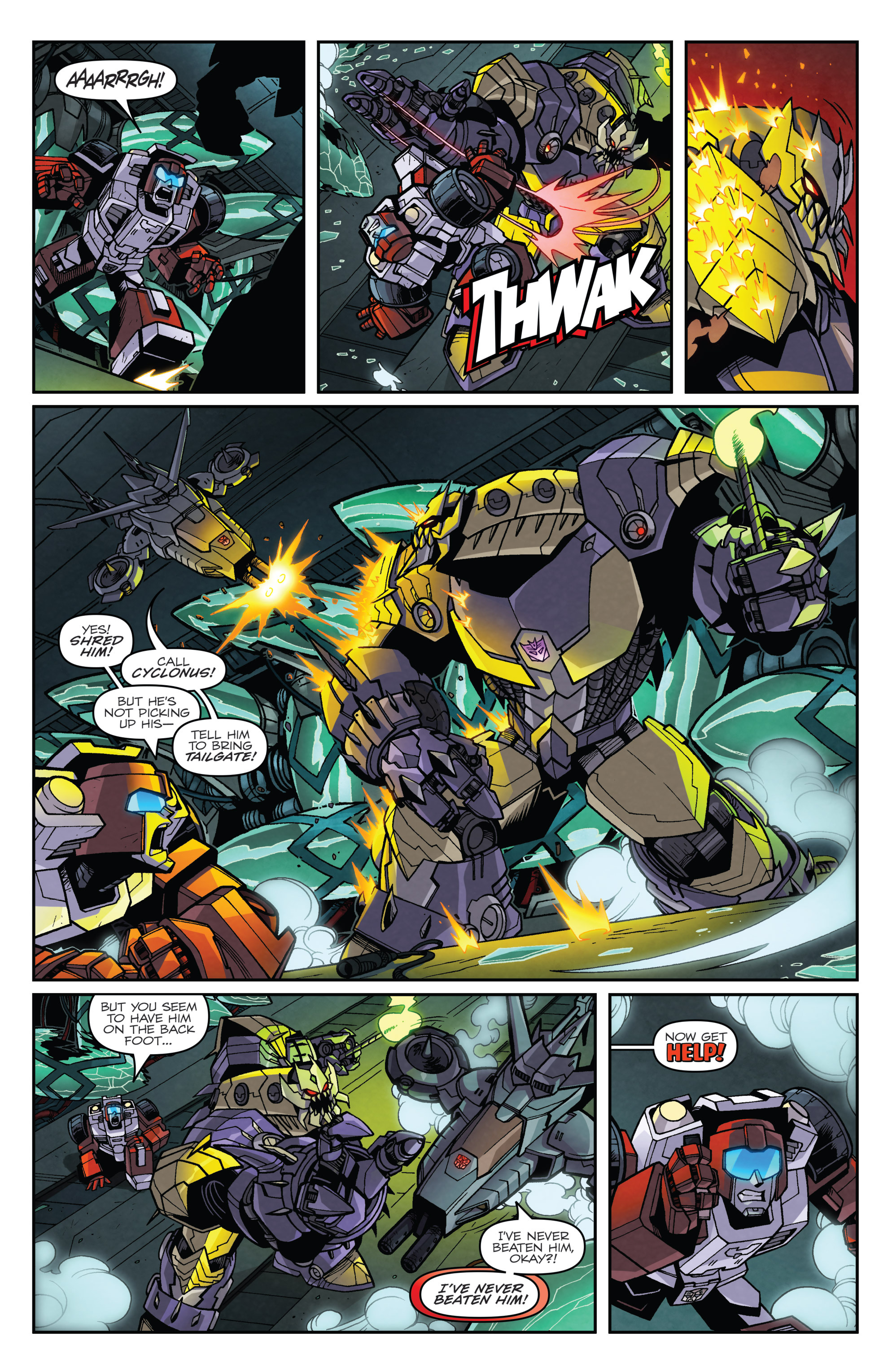 Read online Transformers: Lost Light comic -  Issue #3 - 10