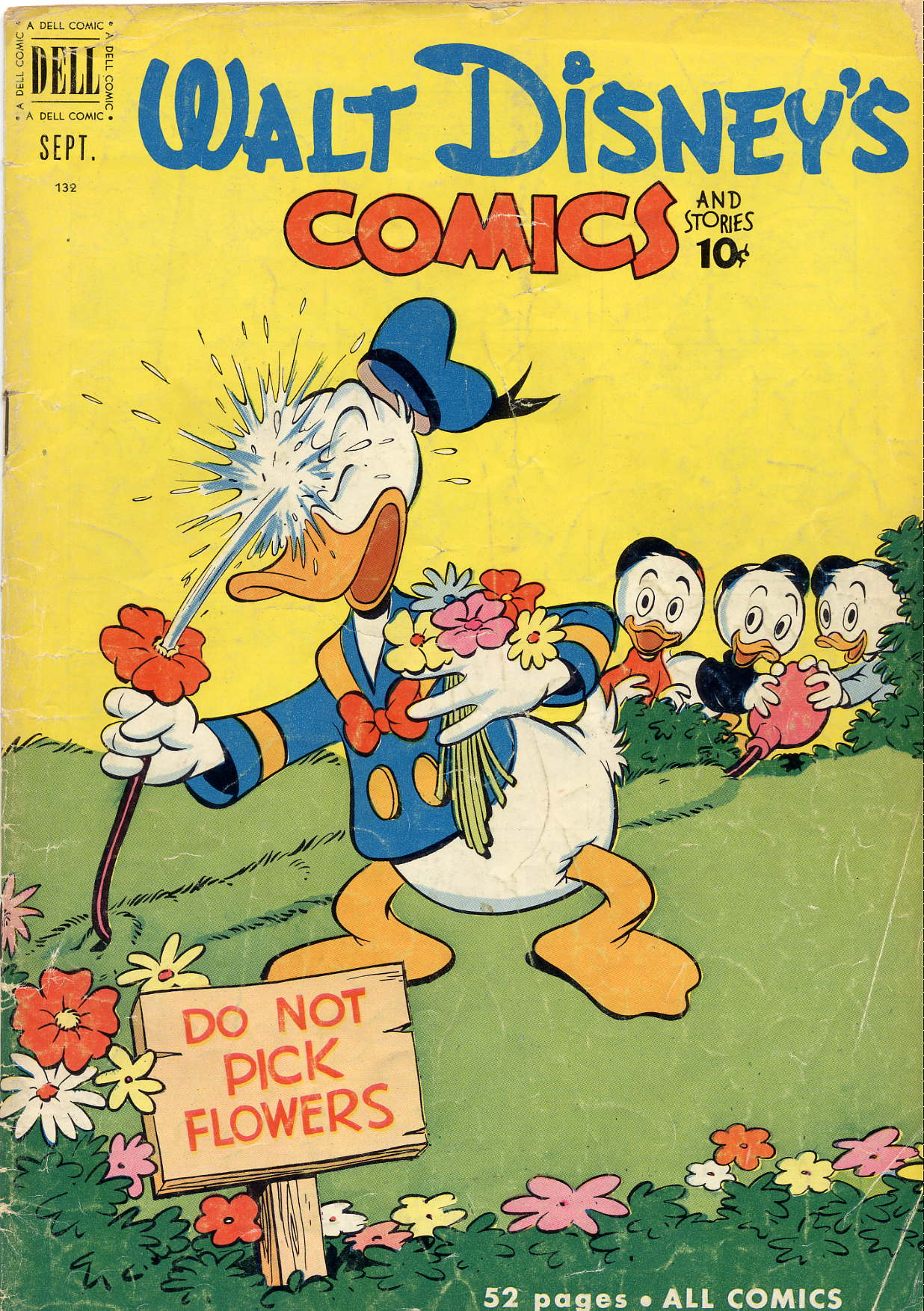 Walt Disneys Comics and Stories 132 Page 1