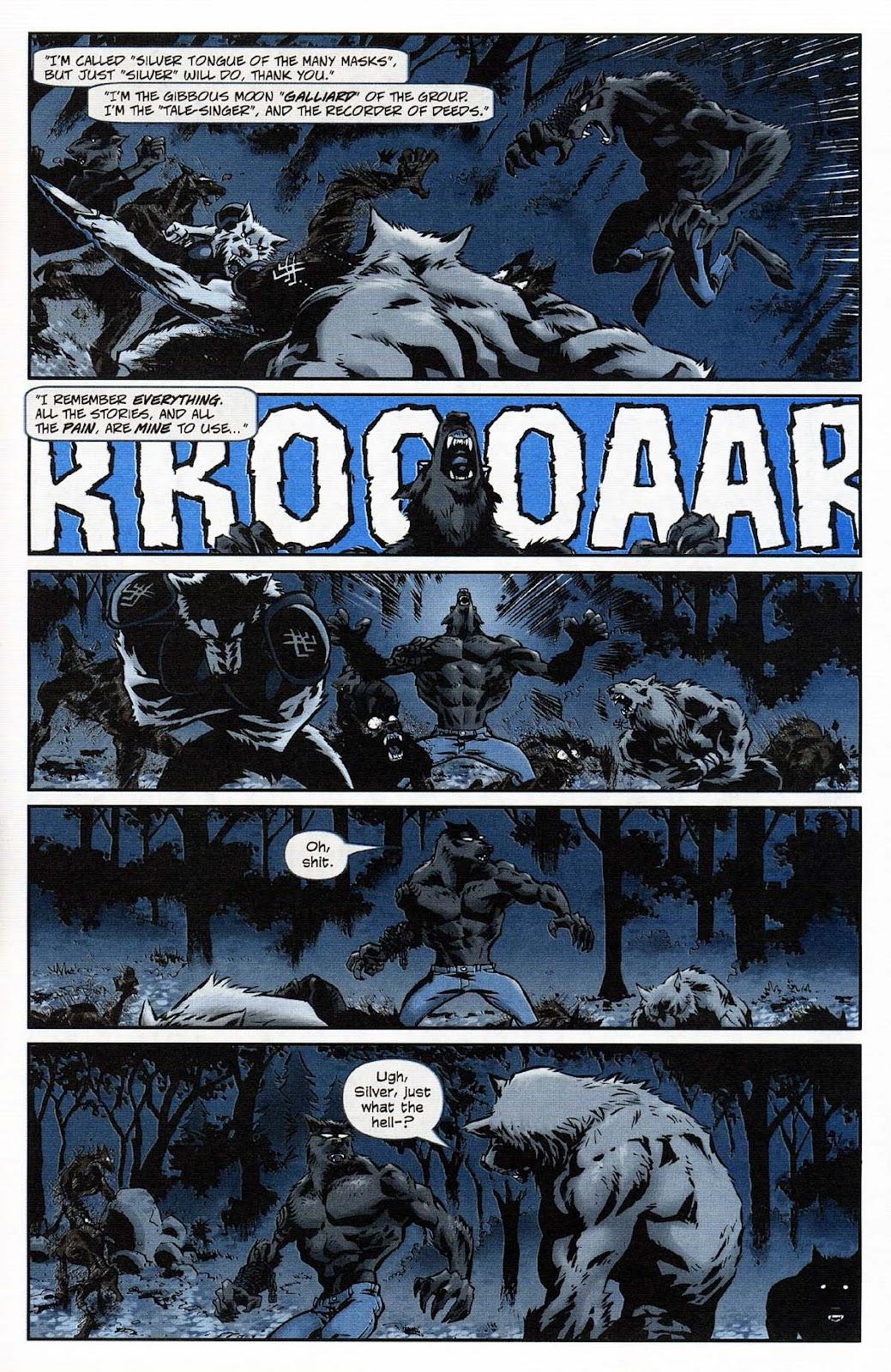 Read online Werewolf the Apocalypse comic -  Issue # Get of Fenris - 9