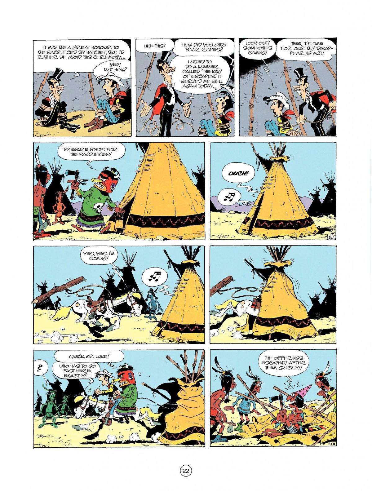 Read online A Lucky Luke Adventure comic -  Issue #37 - 22