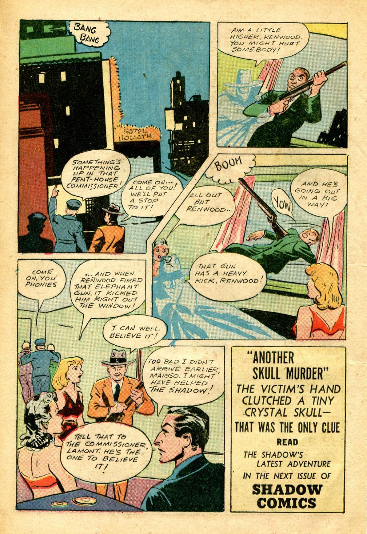 Read online Shadow Comics comic -  Issue #51 - 17