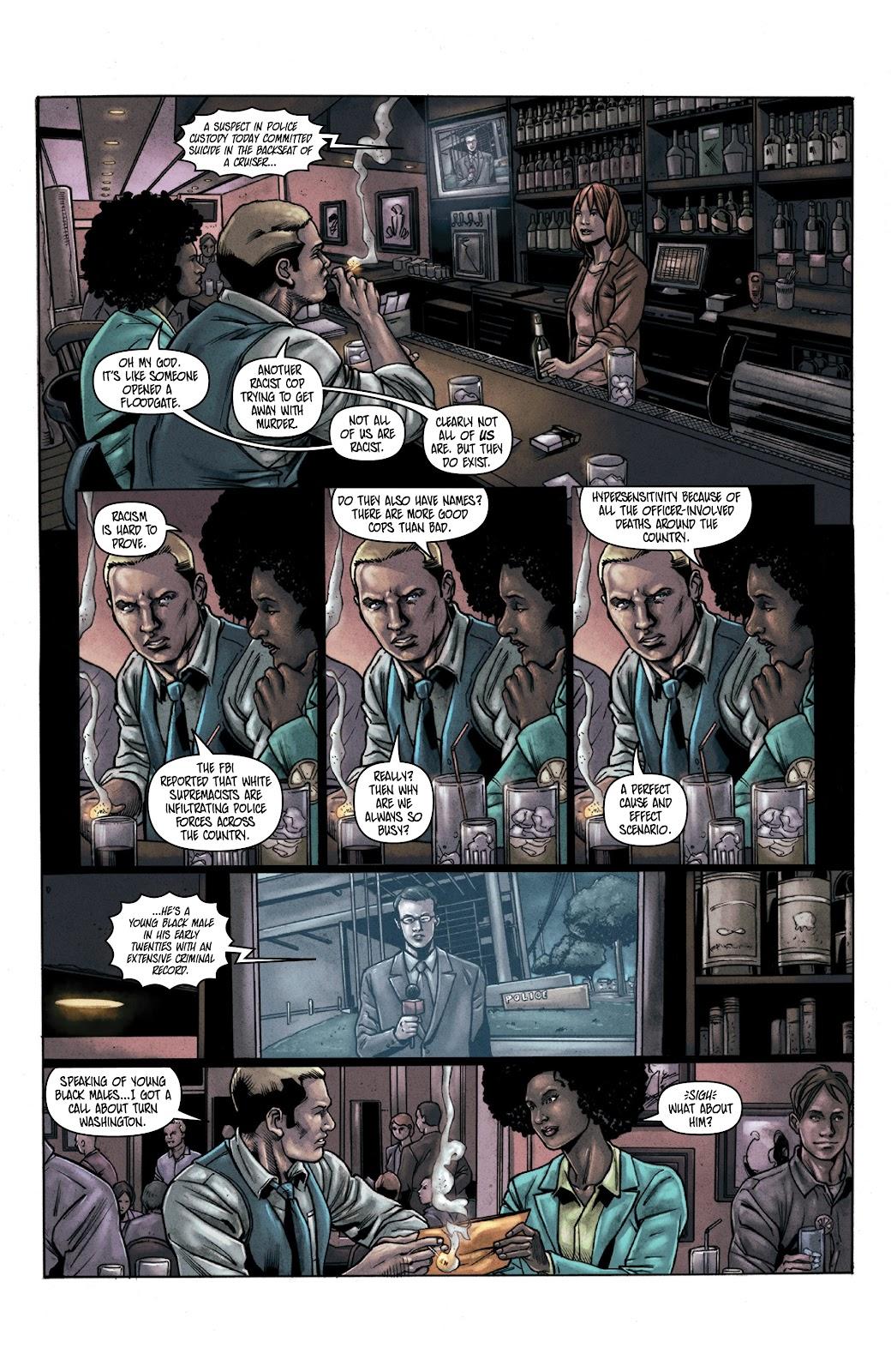 Read online Vindication comic -  Issue #3 - 3