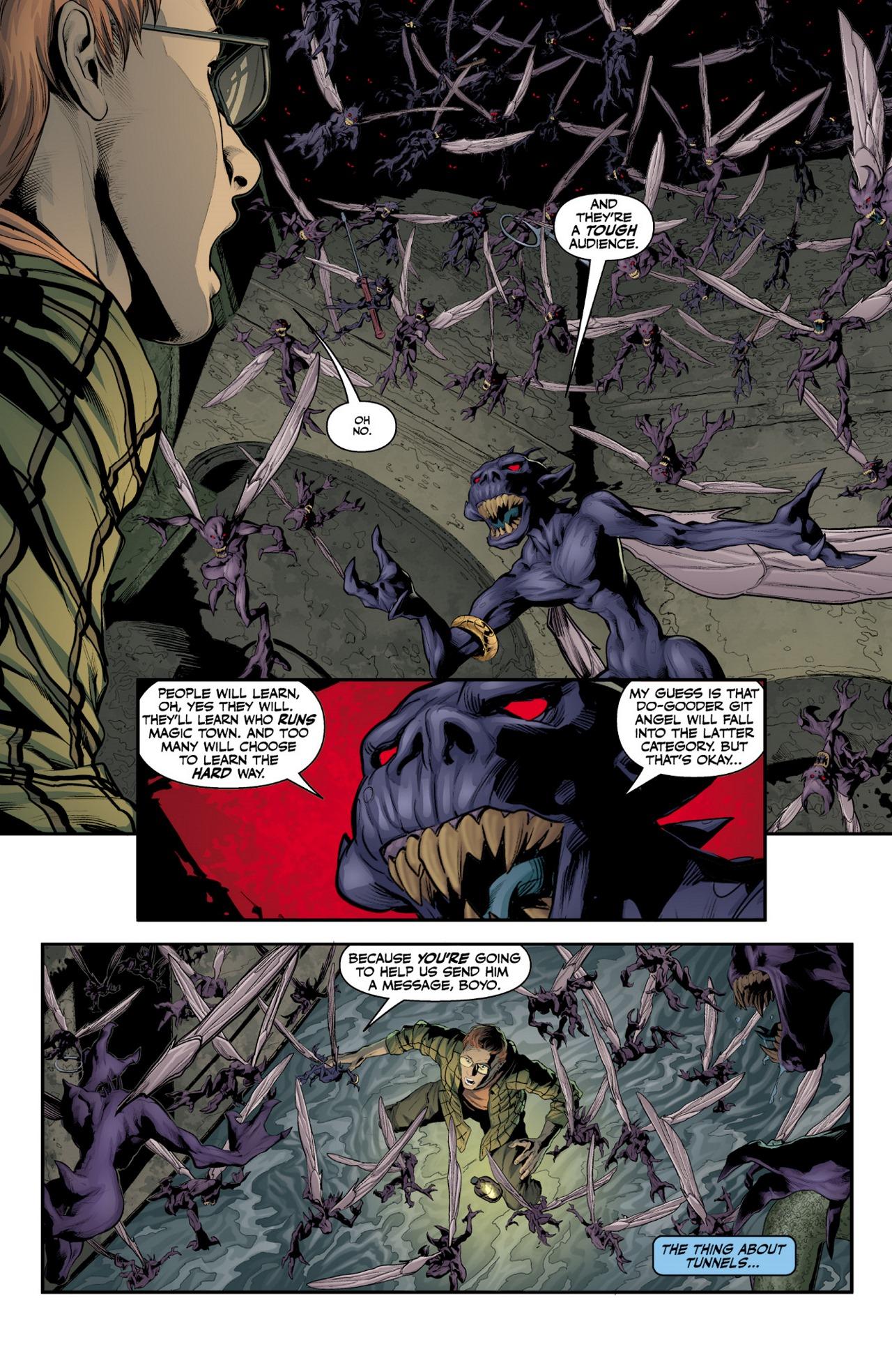 Read online Angel & Faith Season 10 comic -  Issue #1 - 14