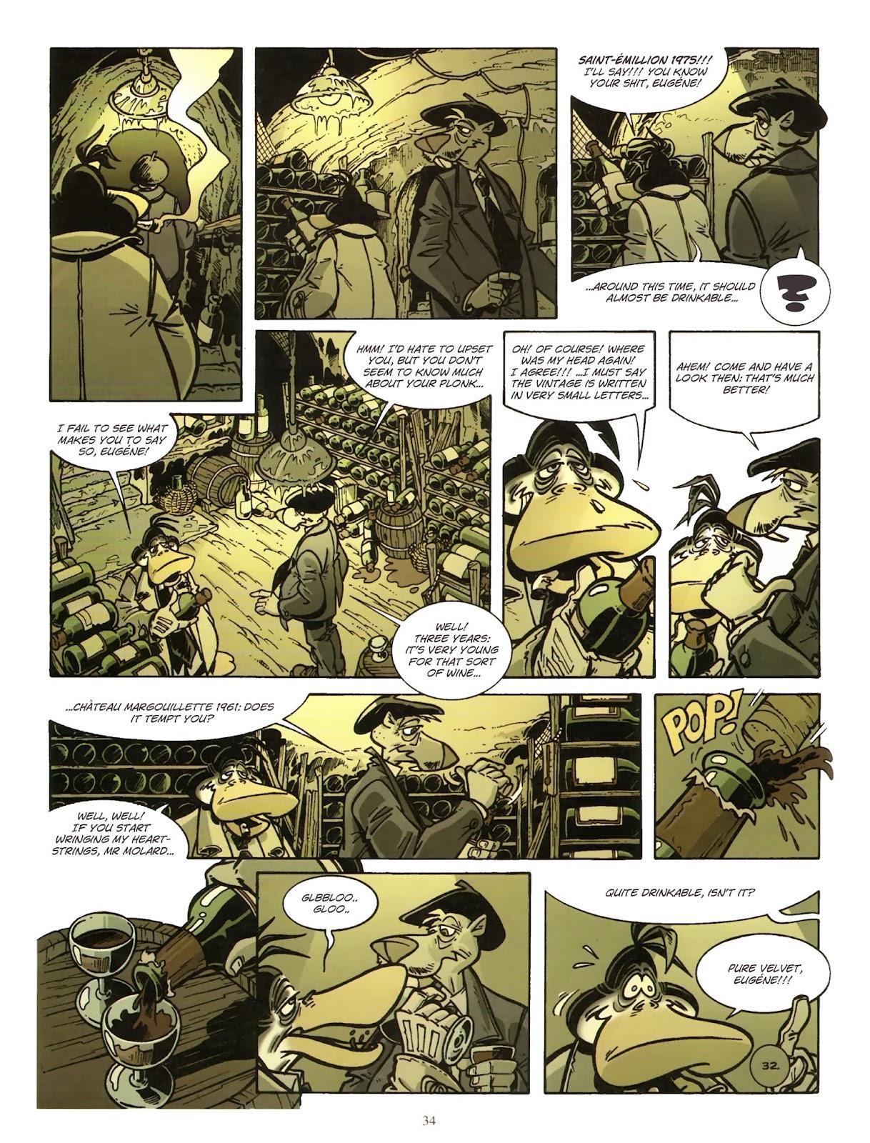 Une enquête de l'inspecteur Canardo issue 11 - Page 35