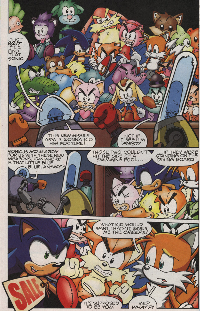 Read online Sonic X comic -  Issue #21 - 16