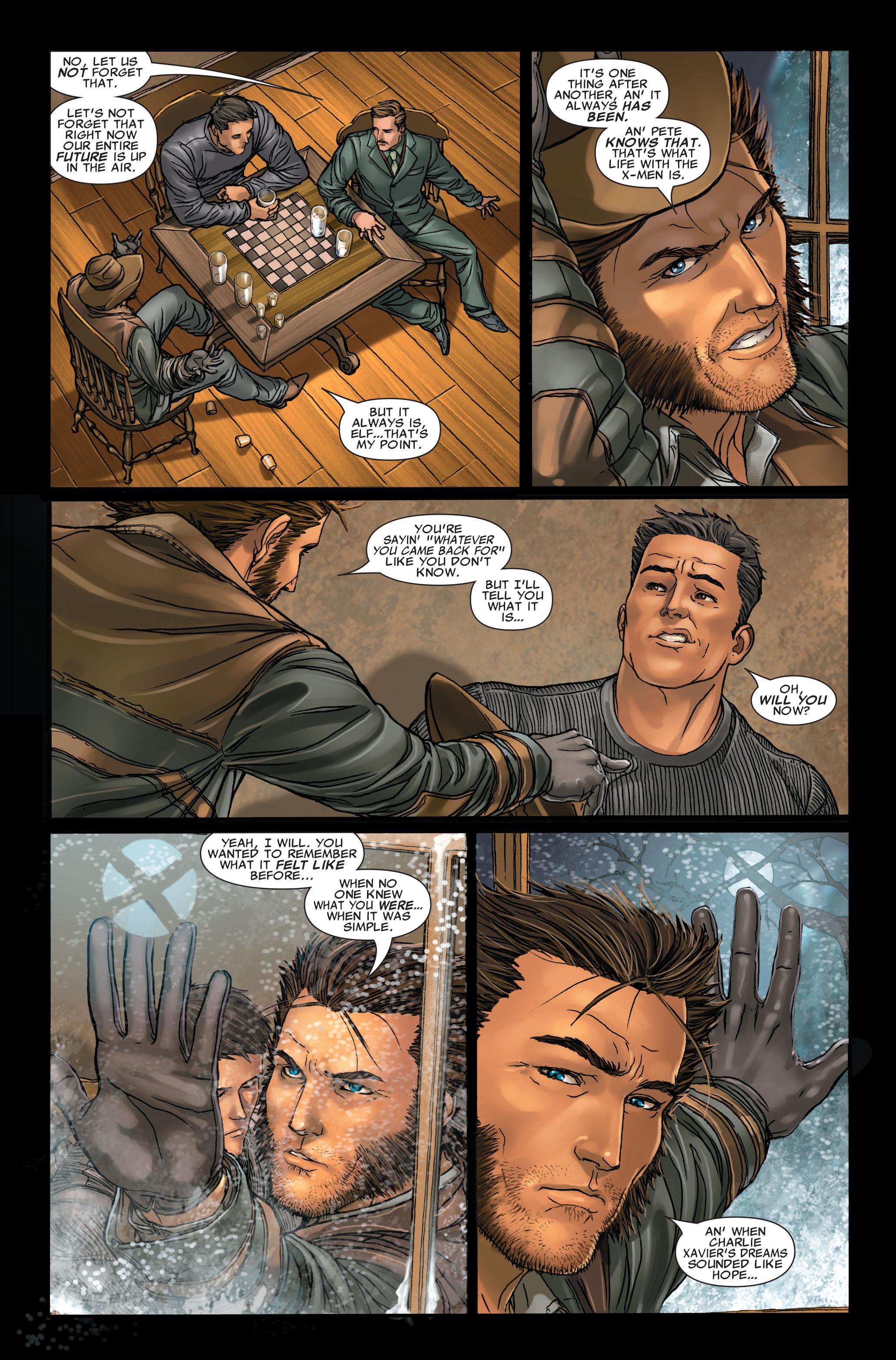 Read online Uncanny X-Men (1963) comic -  Issue #496 - 11