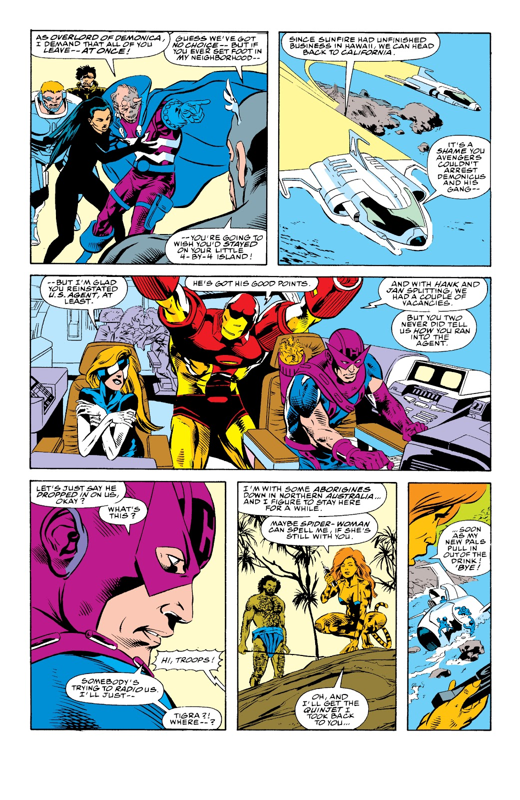 Avengers West Coast (1989) issue 74 - Page 22