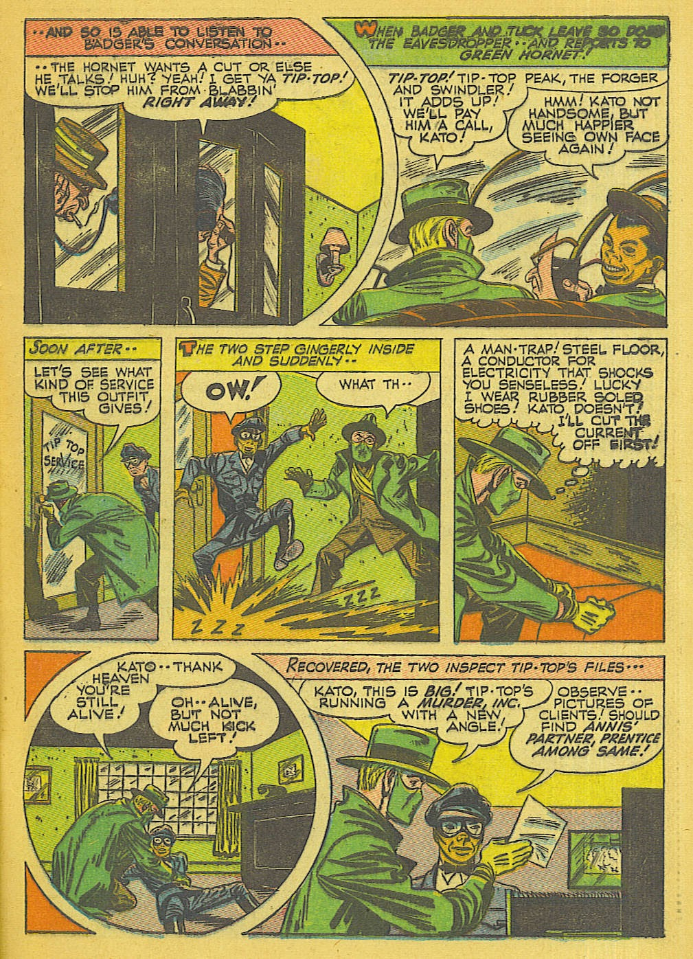 Green Hornet Comics issue 32 - Page 12