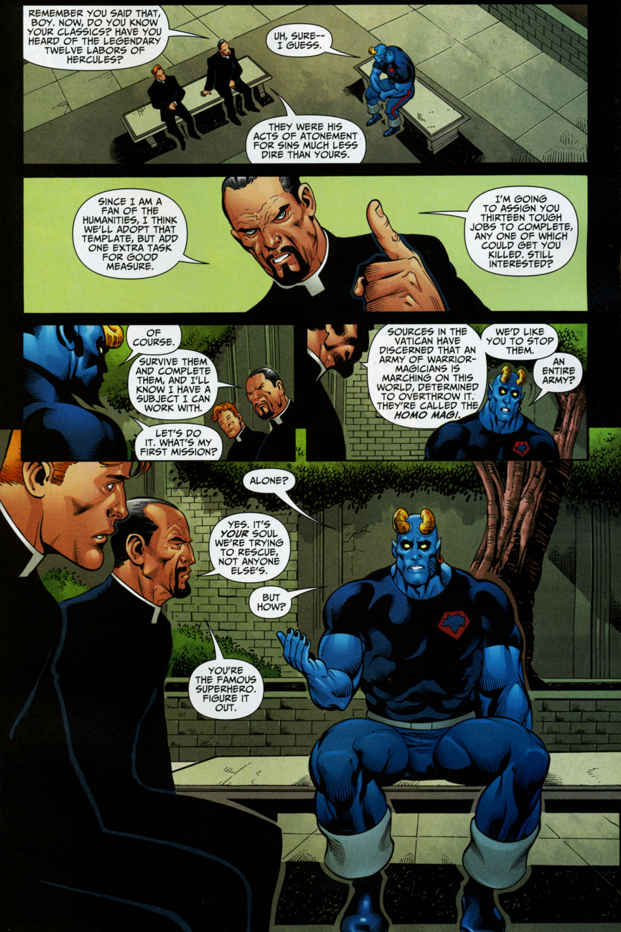 Read online Shadowpact comic -  Issue #16 - 19