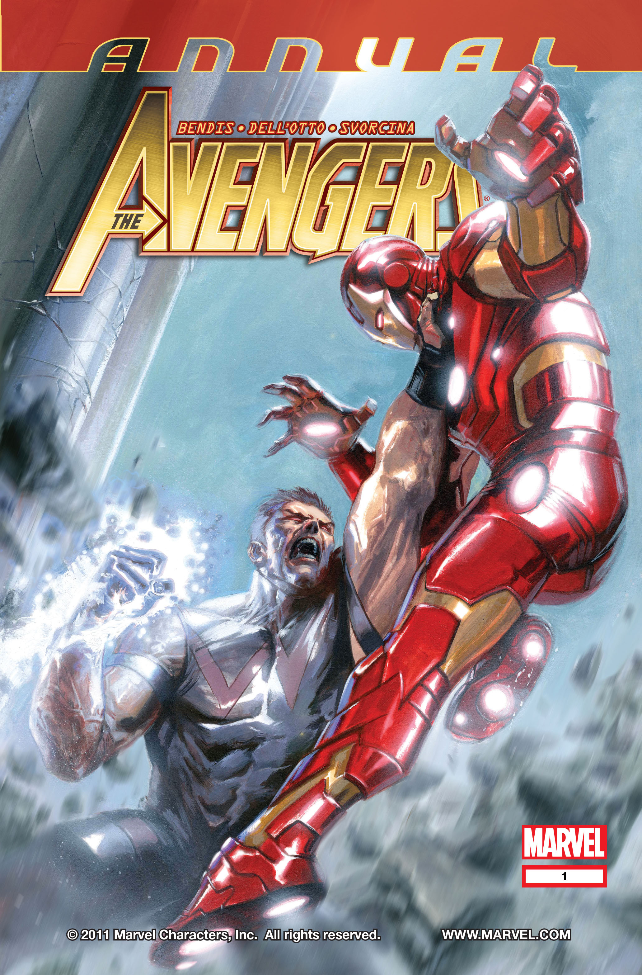 Read online Avengers (2010) comic -  Issue #Avengers (2010) Annual 1 - 1