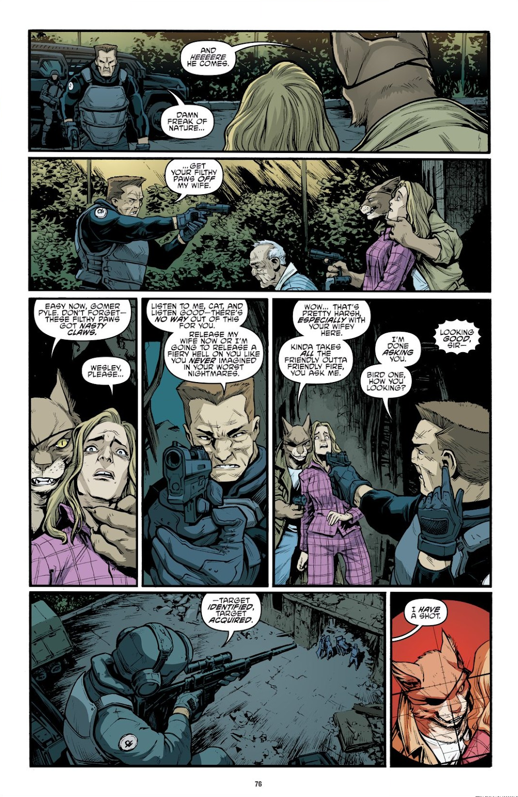 Read online Teenage Mutant Ninja Turtles: The IDW Collection comic -  Issue # TPB 9 (Part 1) - 77